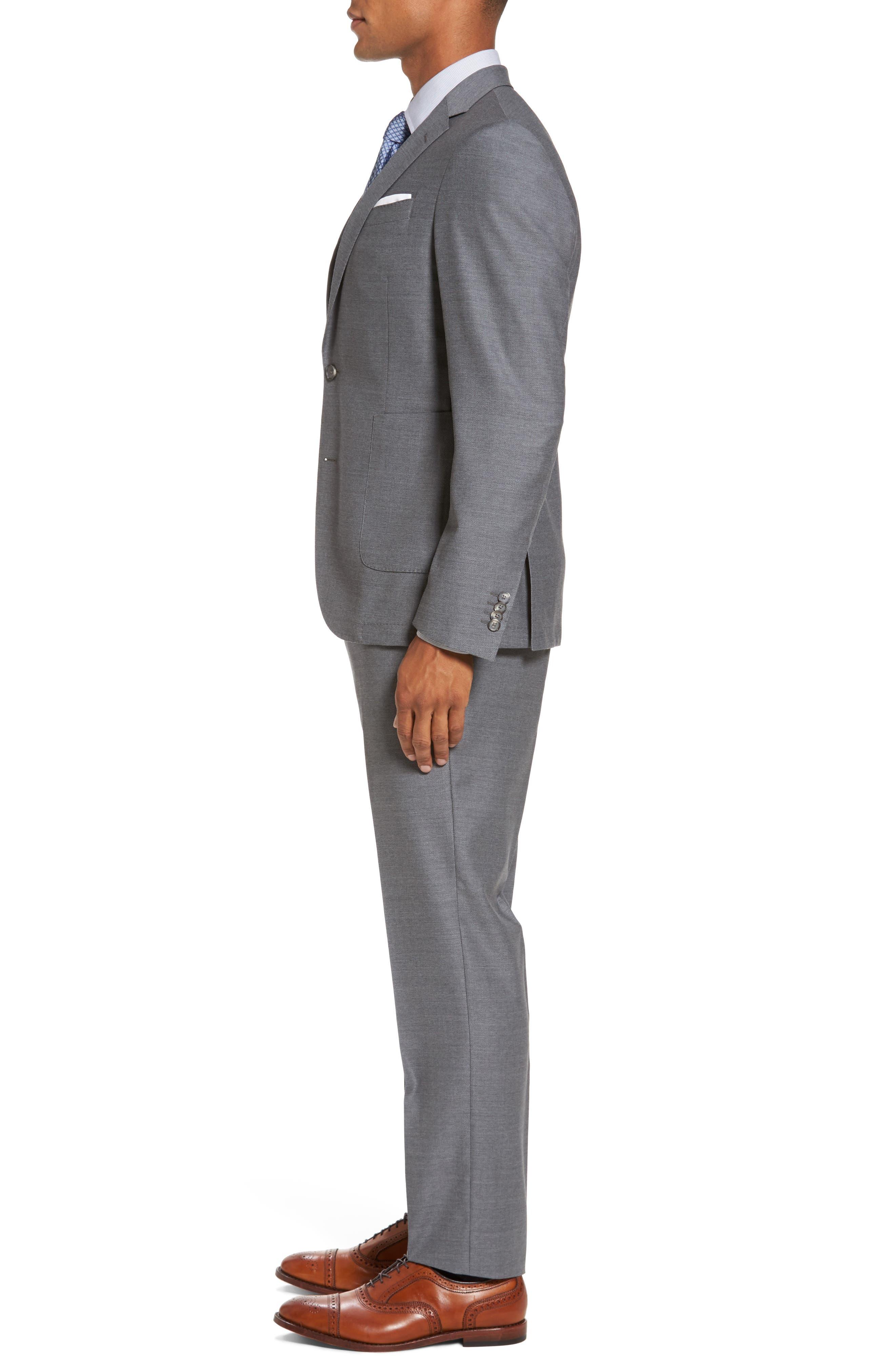 Novan/Ben Classic Fit Suit,                             Alternate thumbnail 3, color,
