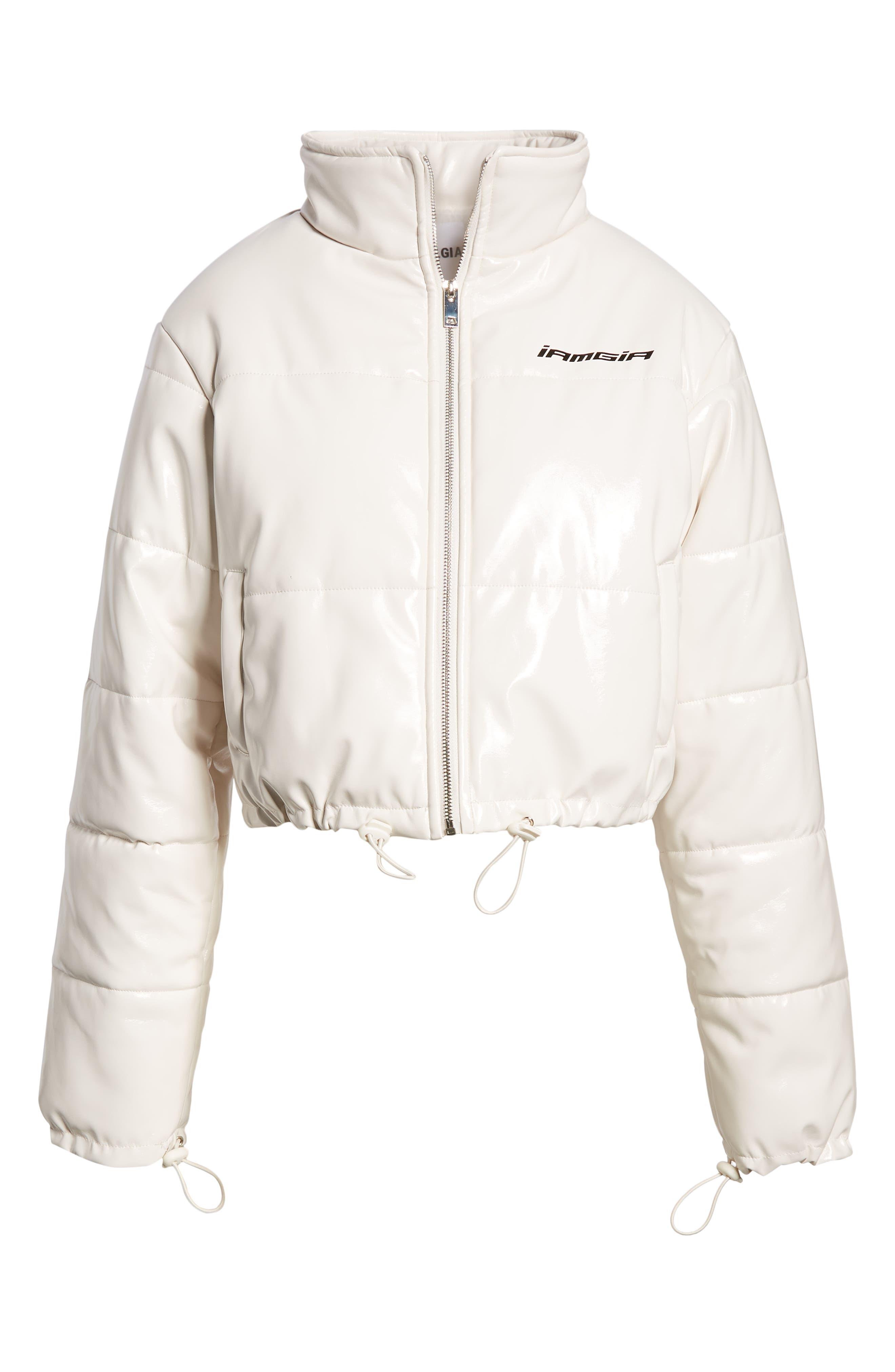 I.AM.GIA Road Warrior Jacket,                             Alternate thumbnail 6, color,                             WHITE