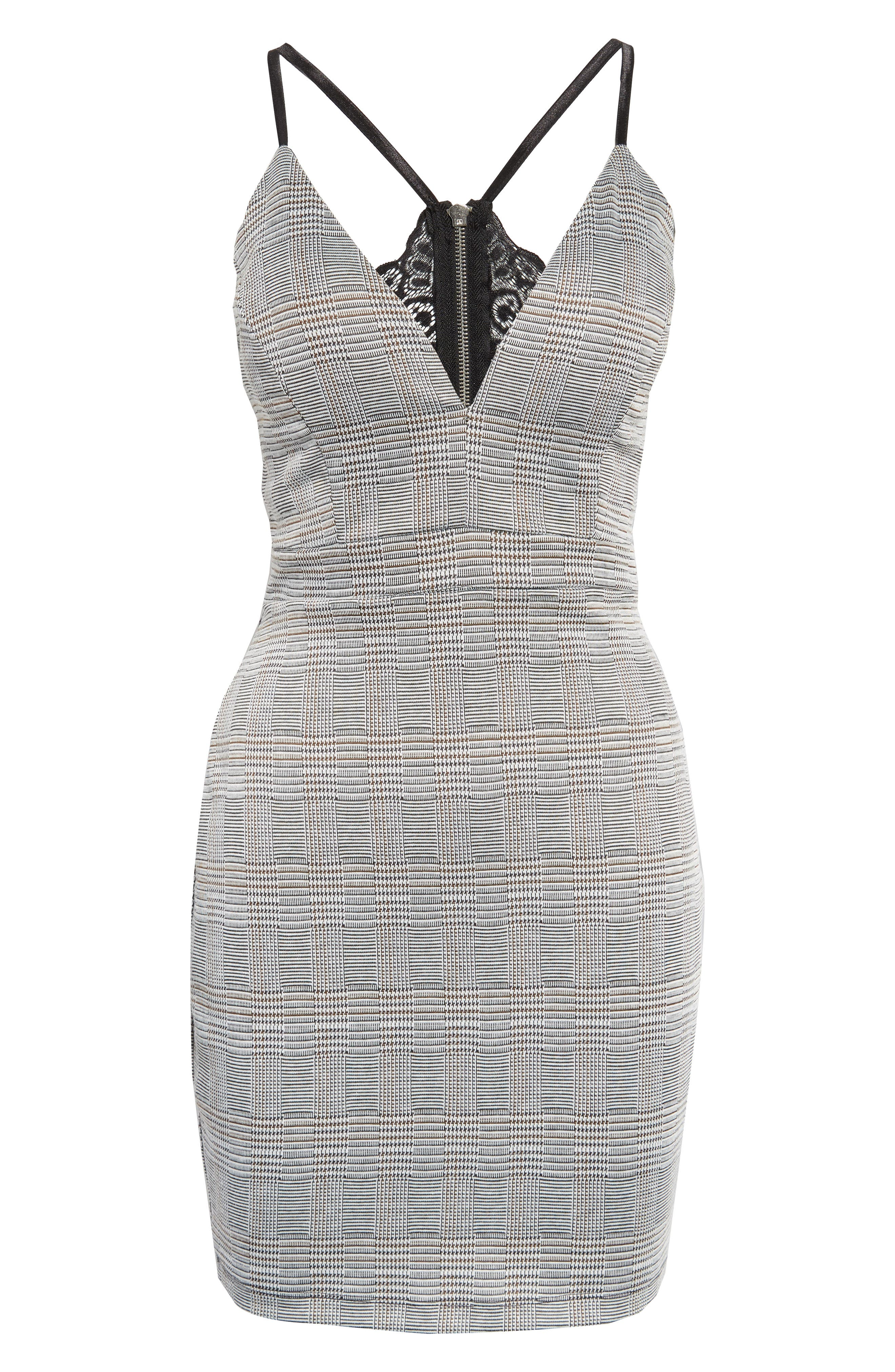 LOVE, NICKIE LEW,                             Body-Con Dress,                             Alternate thumbnail 7, color,                             001