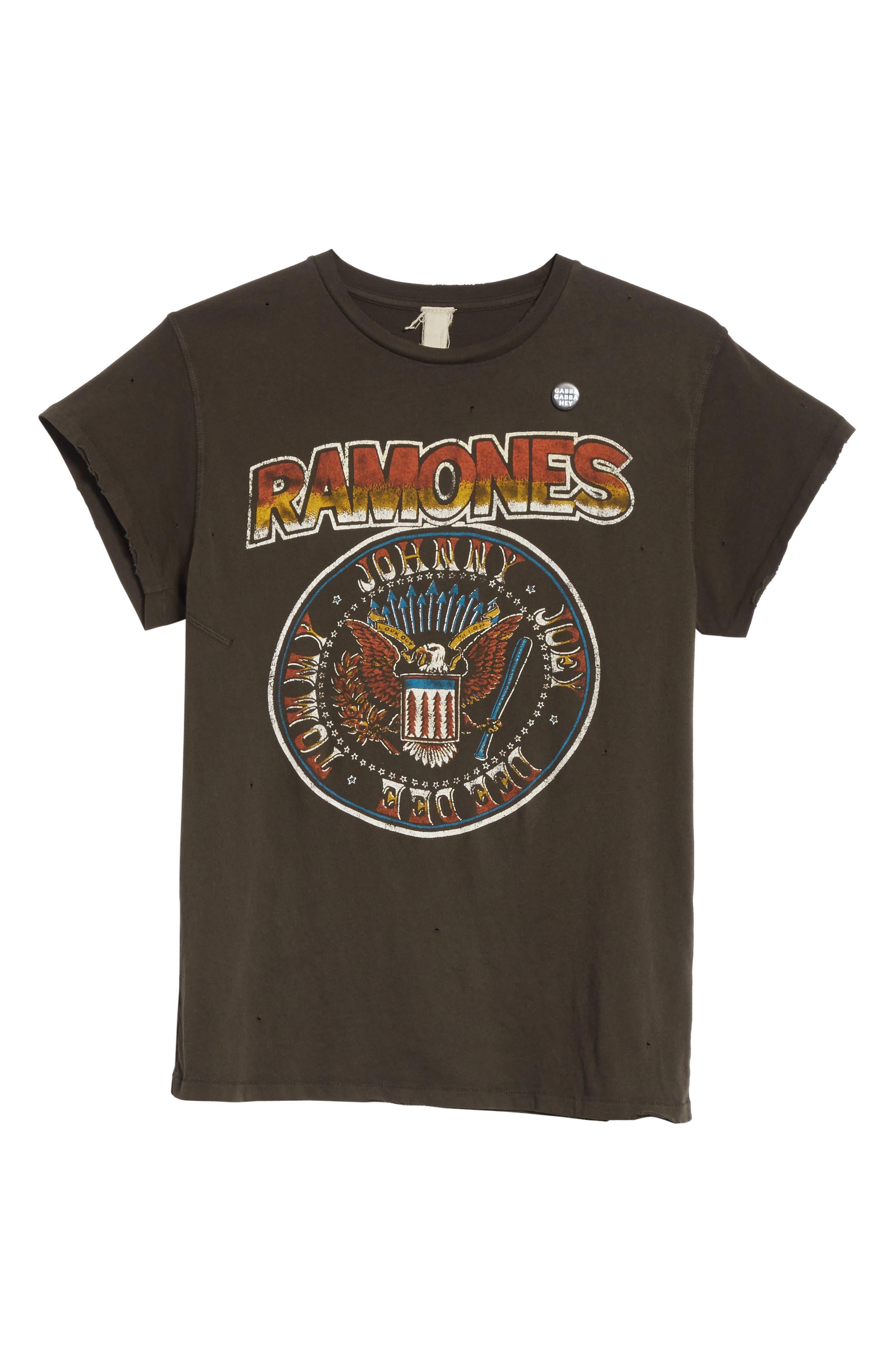 Ramones Graphic T-Shirt,                             Alternate thumbnail 6, color,