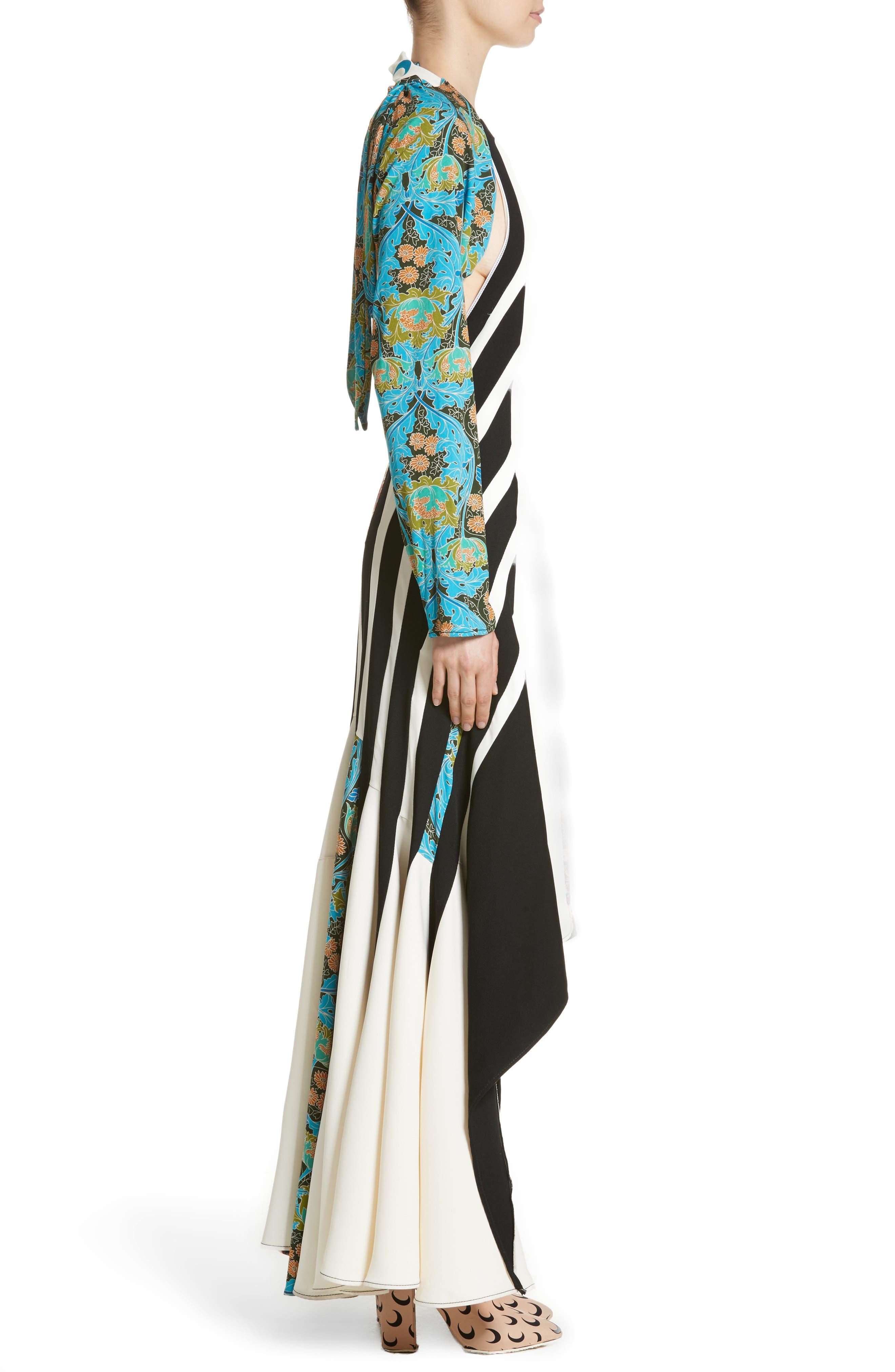 Carpet Dress,                             Alternate thumbnail 3, color,                             960