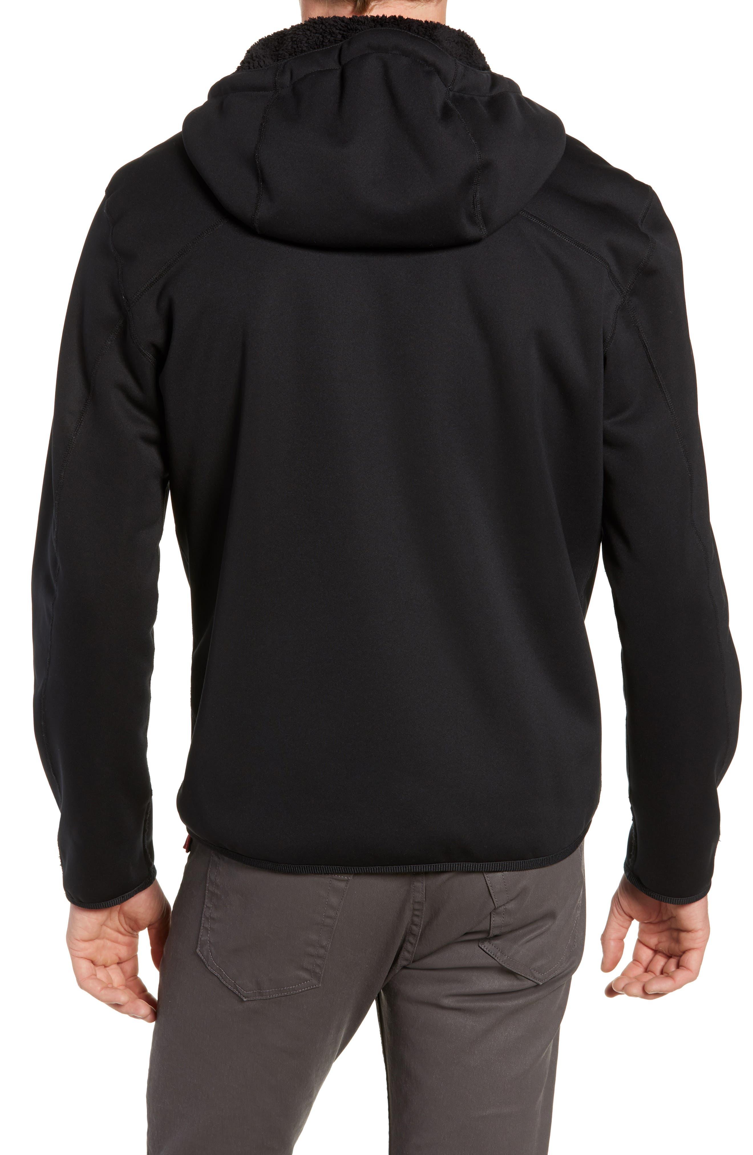 Tactic Hooded Fleece Jacket,                             Alternate thumbnail 2, color,                             BLACK