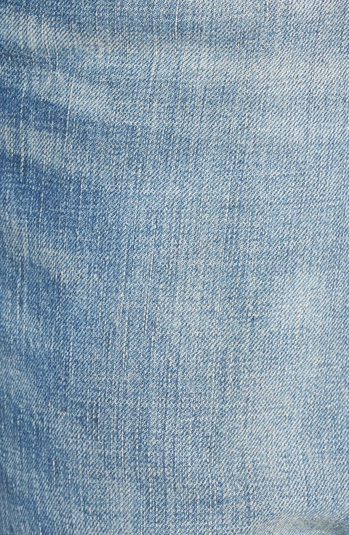 501<sup>®</sup> Original Straight Leg Jeans,                             Alternate thumbnail 5, color,