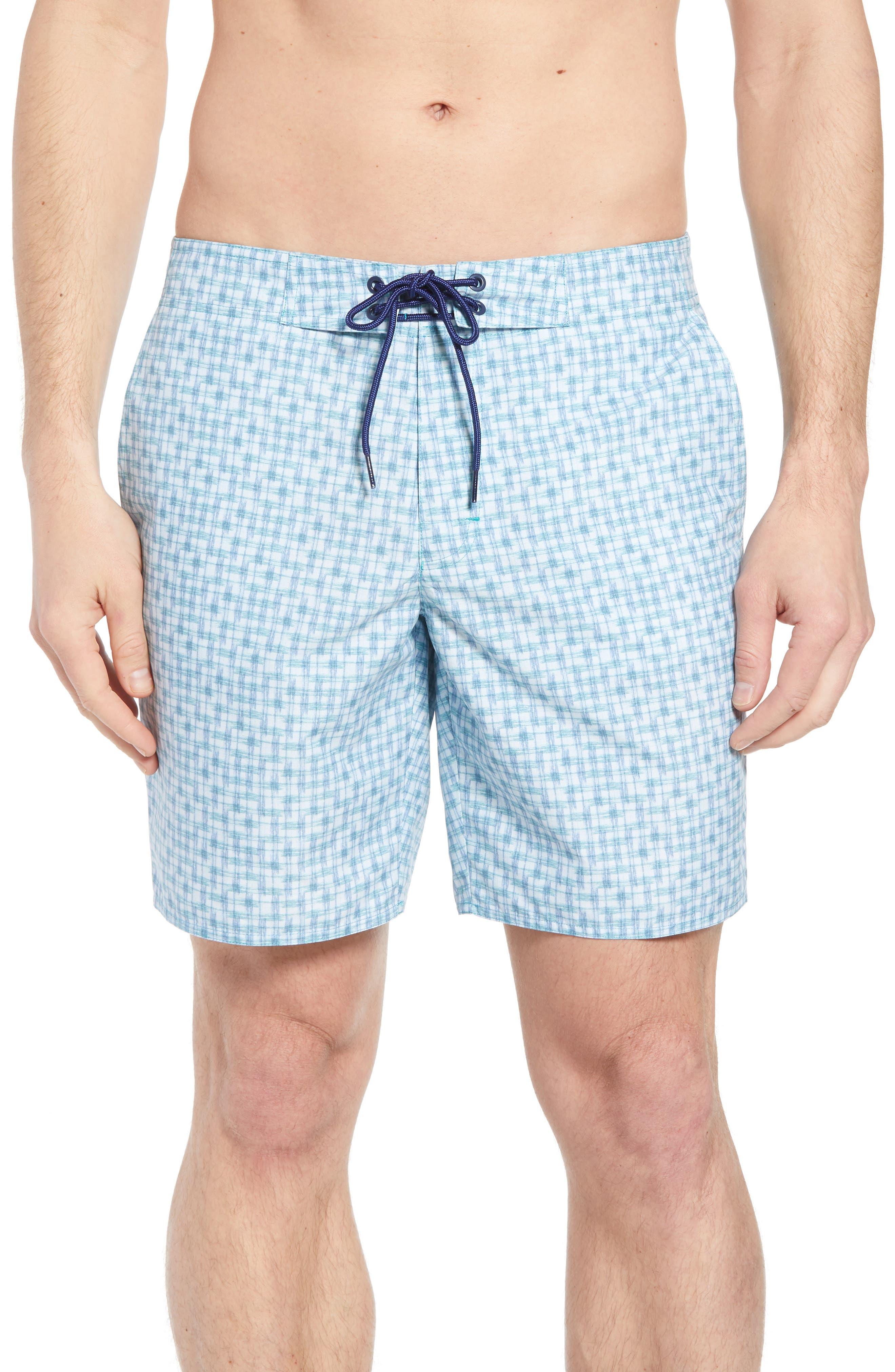 Ashby Swim Trunks,                         Main,                         color, LIGHT BLUE