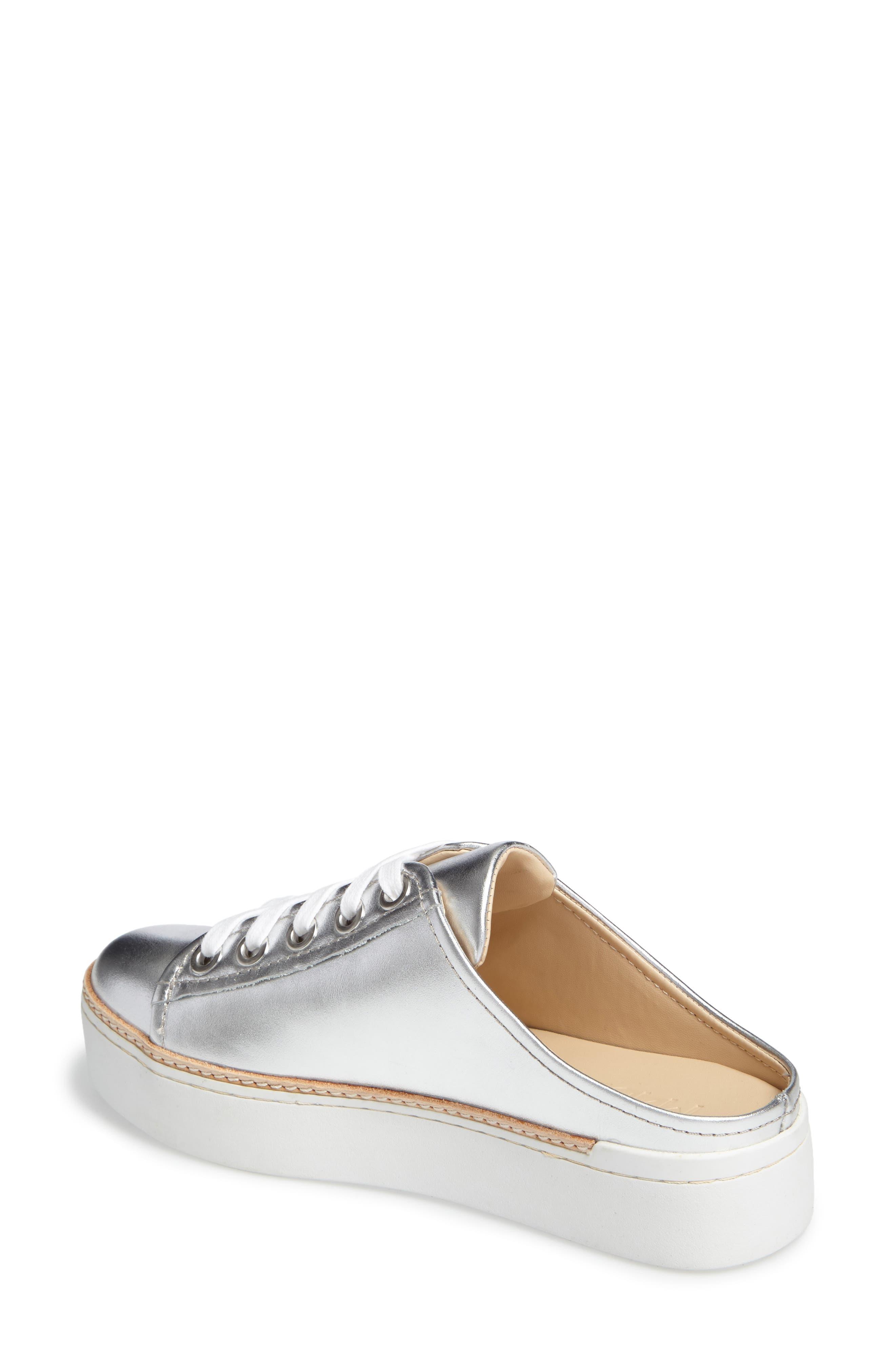 M4D3,                             Platform Mule Sneaker,                             Alternate thumbnail 2, color,                             SILVER
