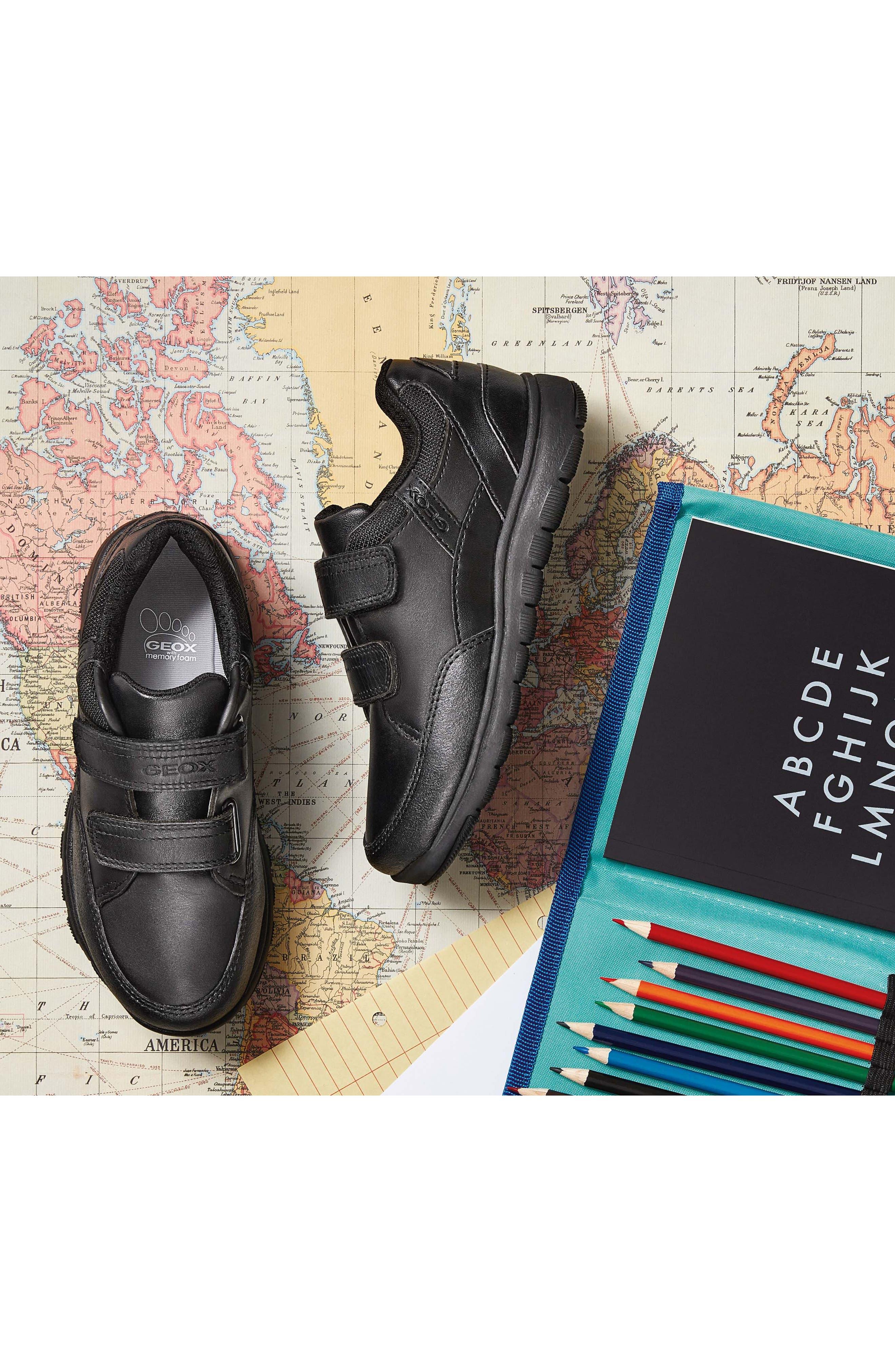 Xunday Low Top Sneaker,                             Alternate thumbnail 7, color,                             BLACK