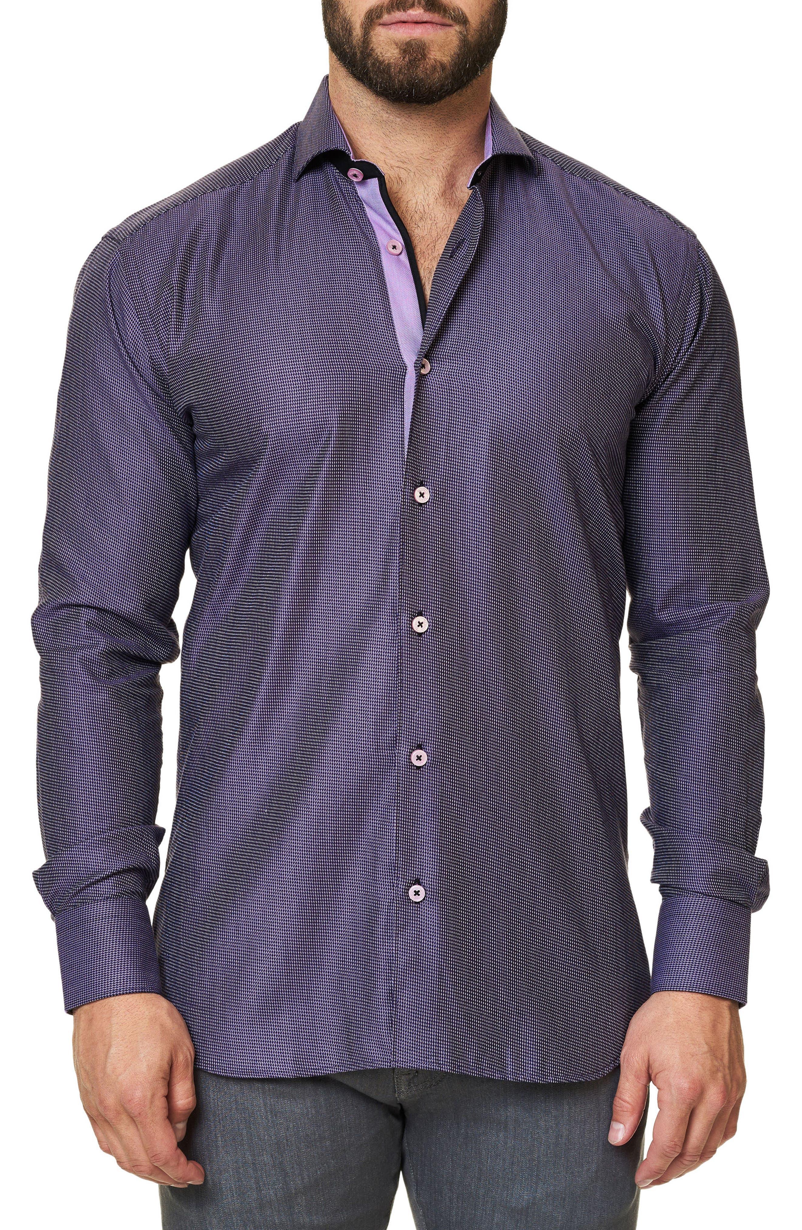 Trim Fit Print Sport Shirt,                         Main,                         color, 509