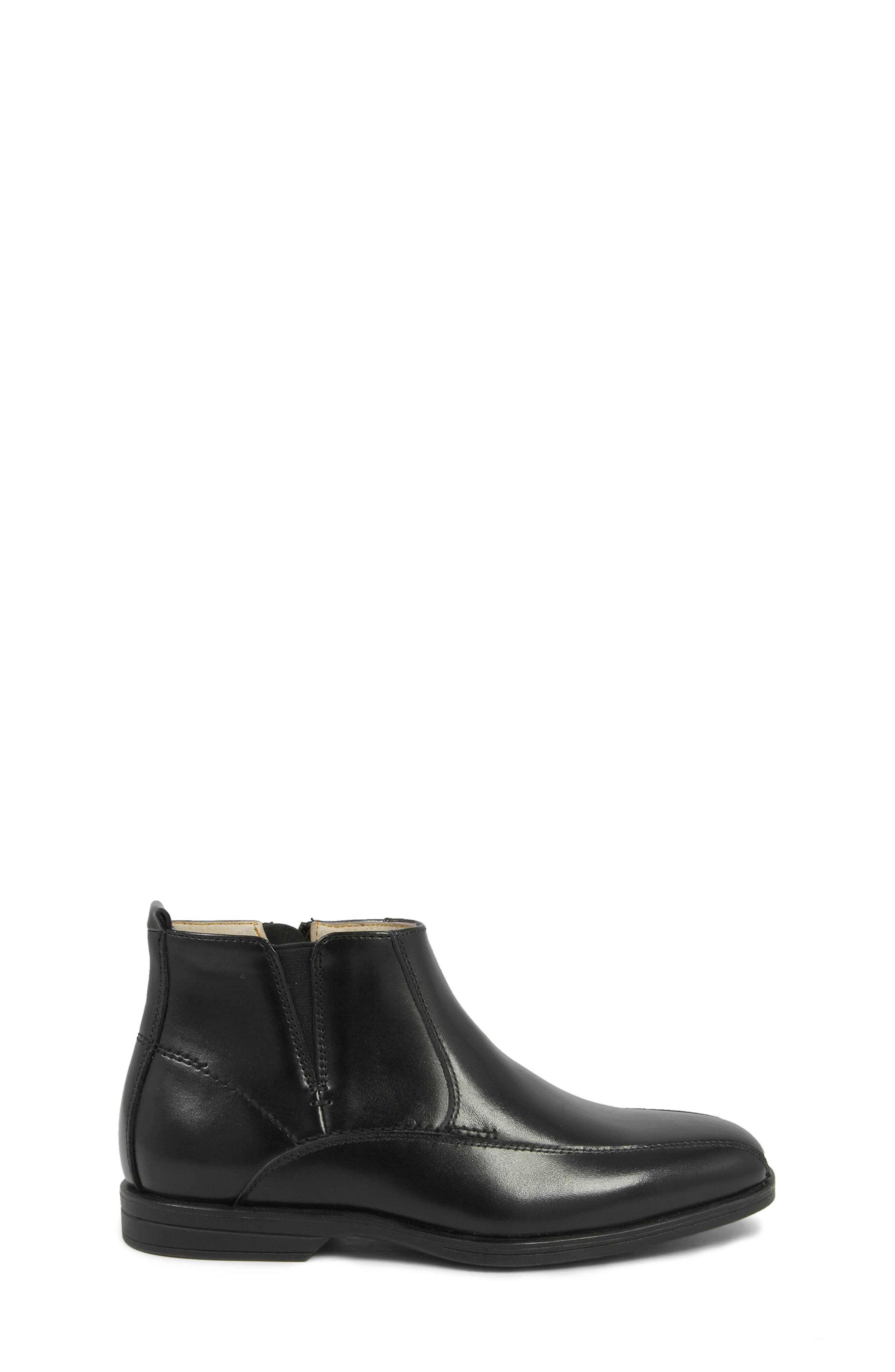 Reveal Chelsea Boot,                             Alternate thumbnail 4, color,                             BLACK