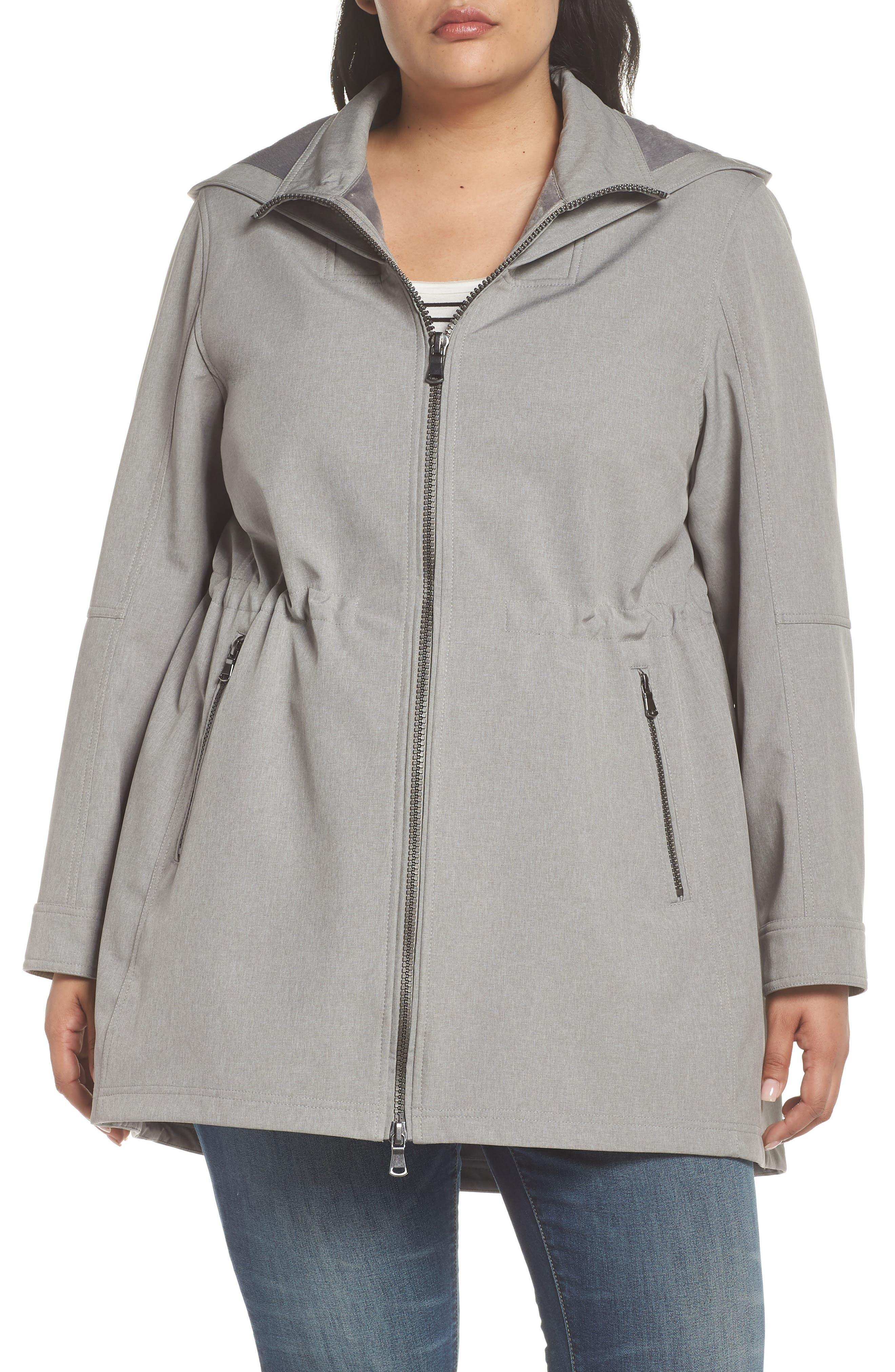 Two-Layer Tech Raincoat,                             Alternate thumbnail 4, color,                             043