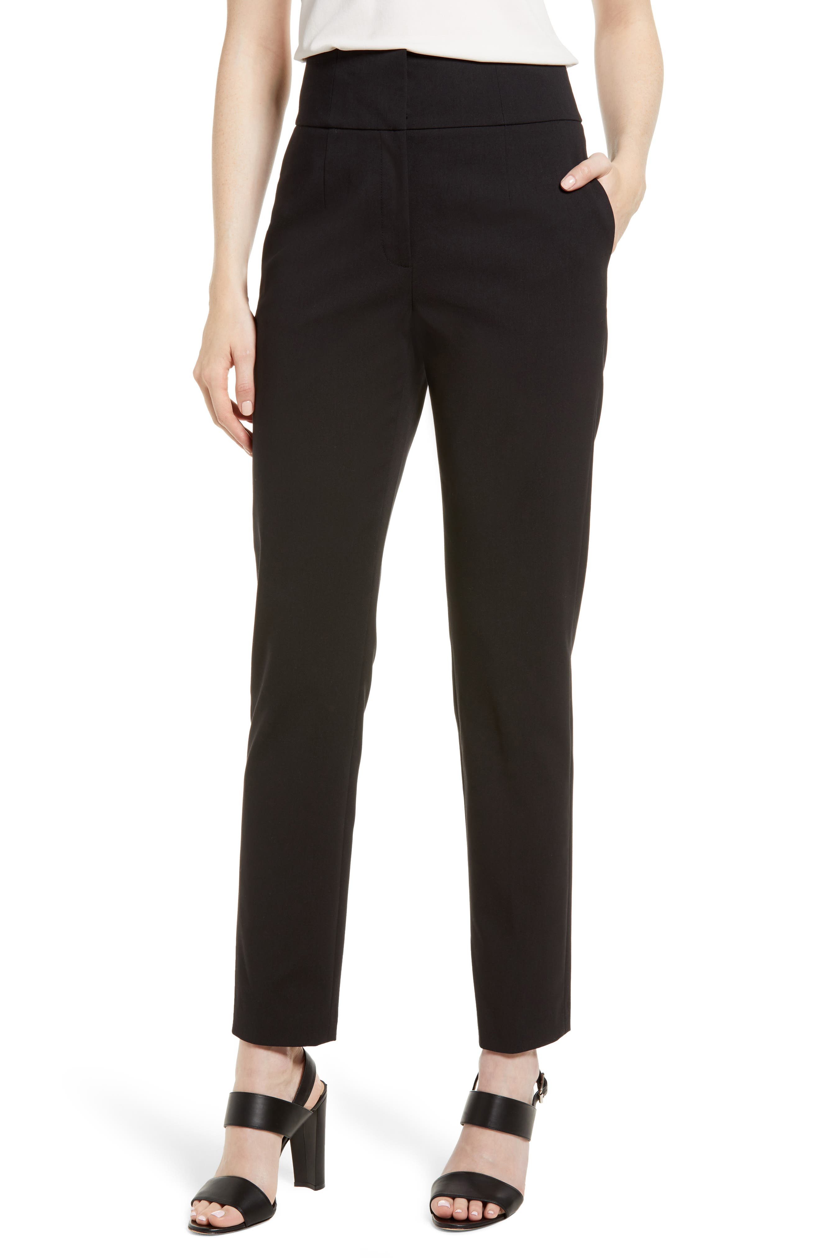 High Waist Pants,                         Main,                         color, 001