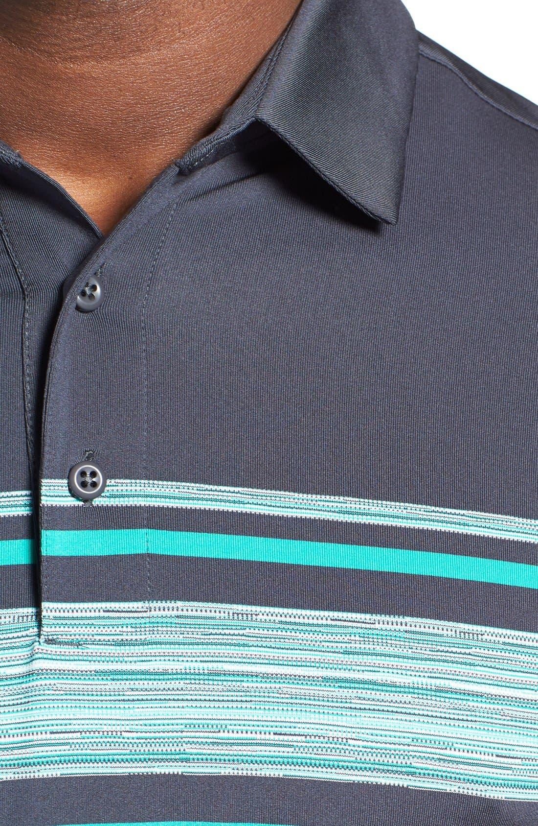 'Playoff' Loose Fit Short Sleeve Polo,                             Alternate thumbnail 186, color,