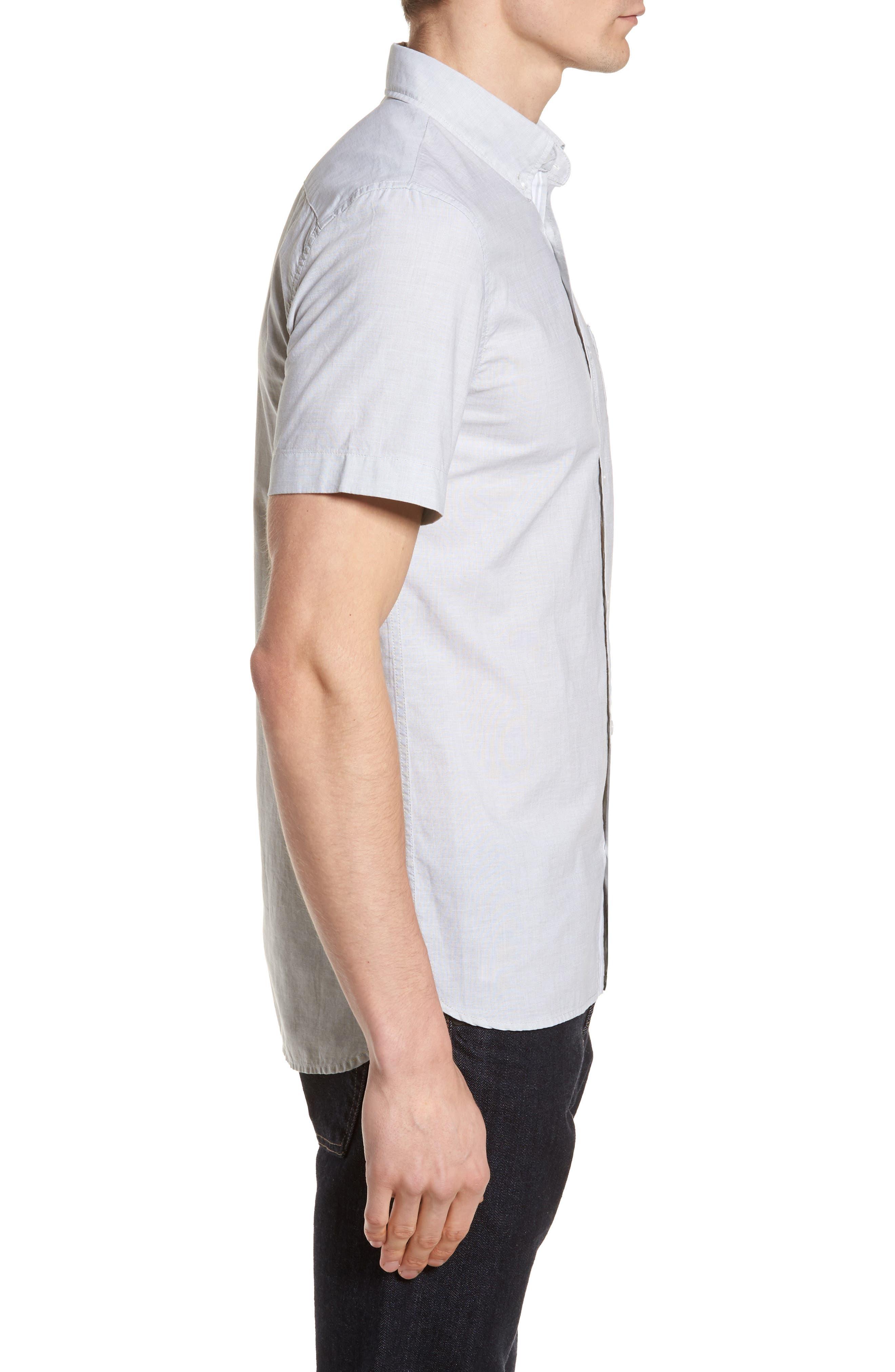 Slim Fit Sport Shirt,                             Alternate thumbnail 3, color,                             300