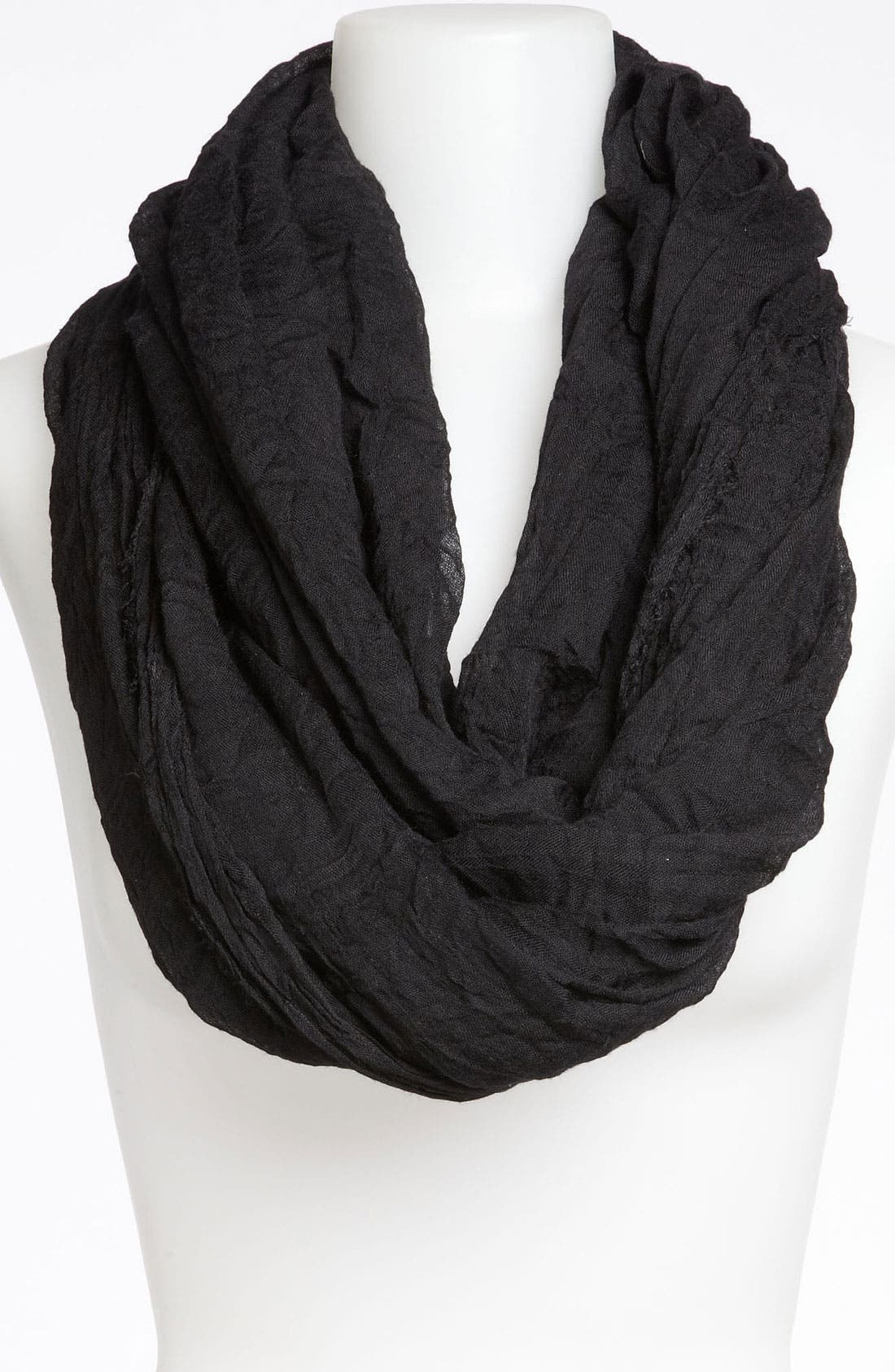 'The Ringer' Infinity Scarf,                             Main thumbnail 1, color,                             001