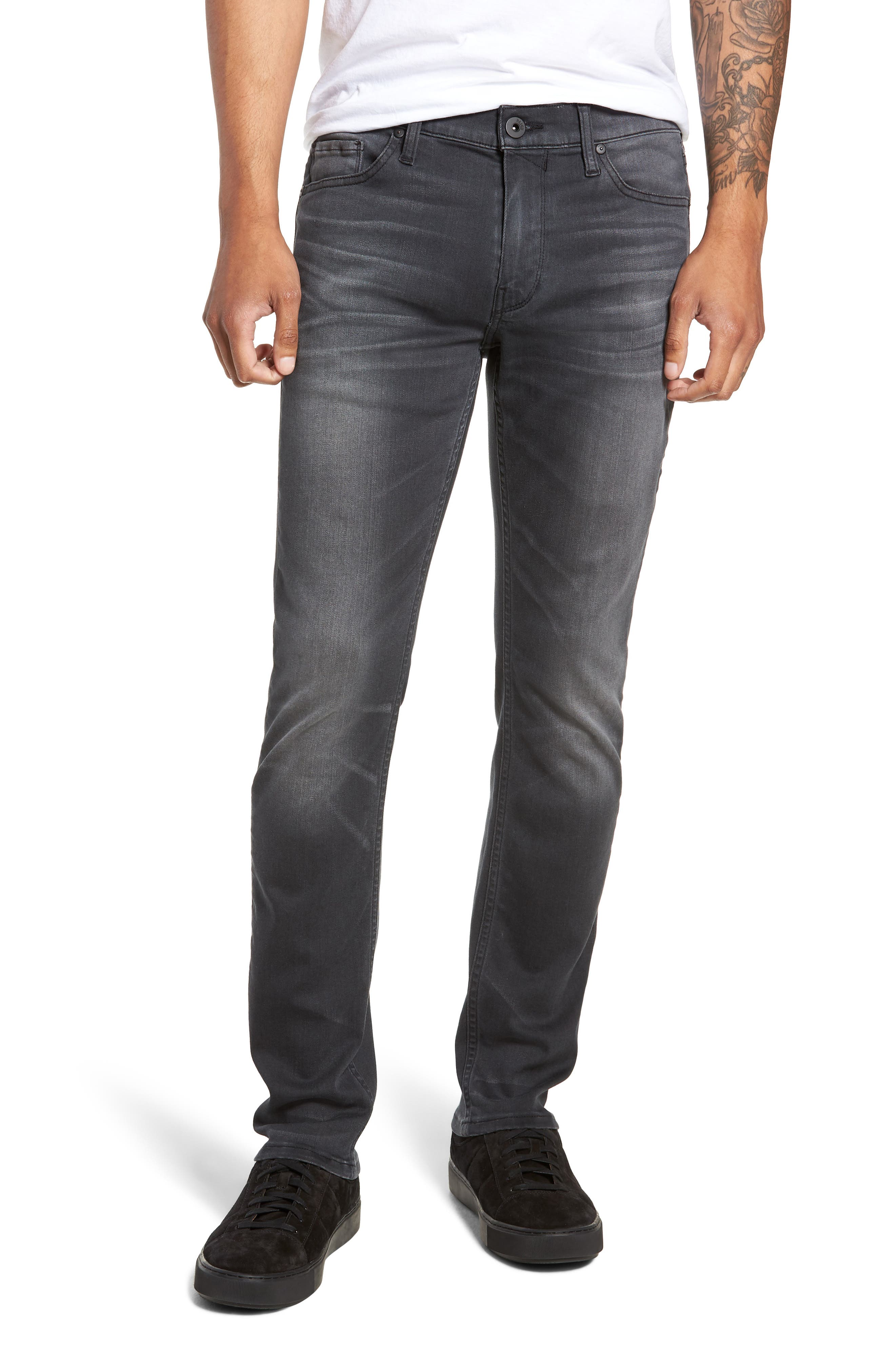 Transcend - Normandie Straight Leg Jeans,                             Main thumbnail 1, color,                             SHELDON