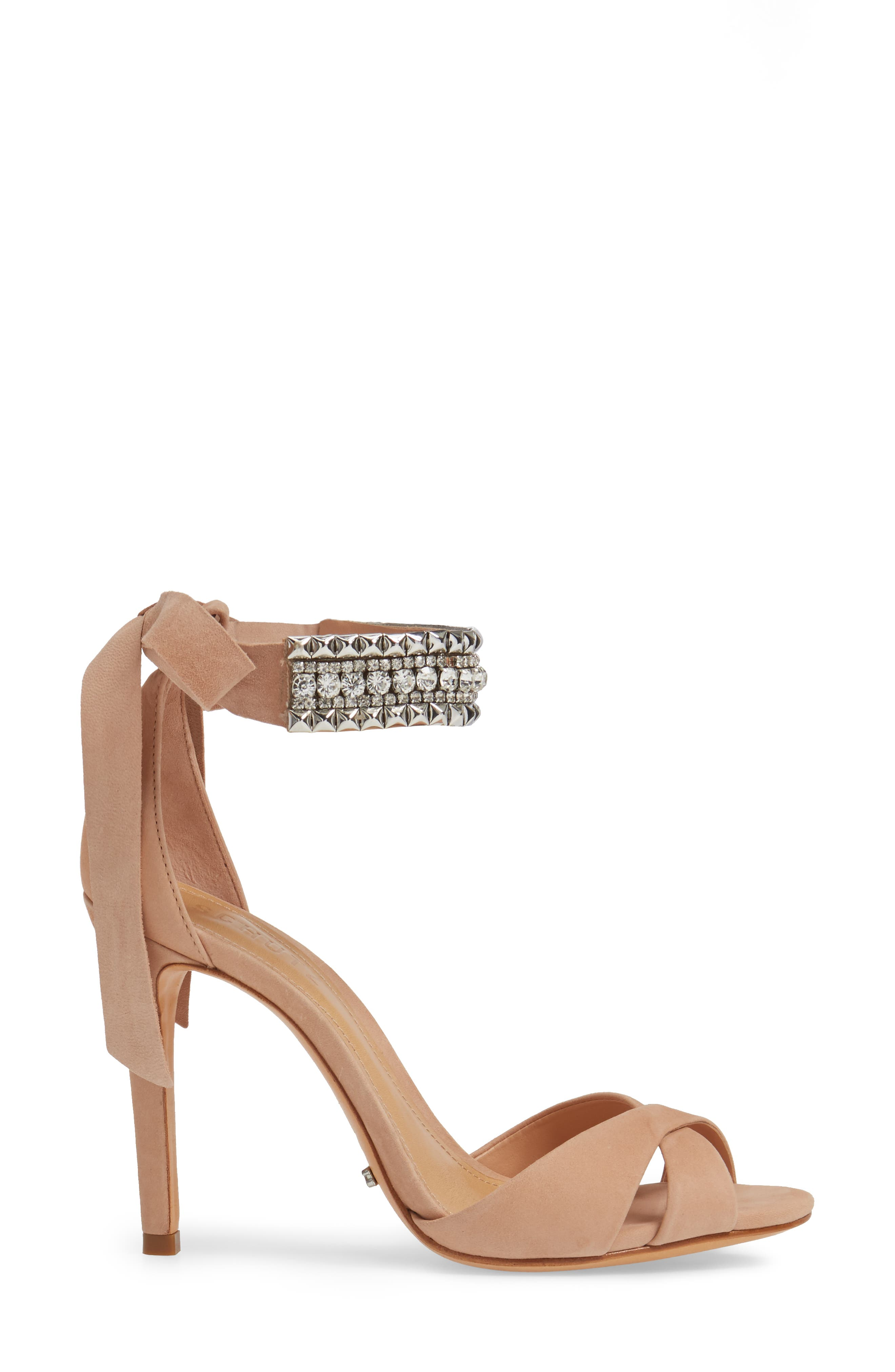 Larazee Embellished Sandal,                             Alternate thumbnail 6, color,