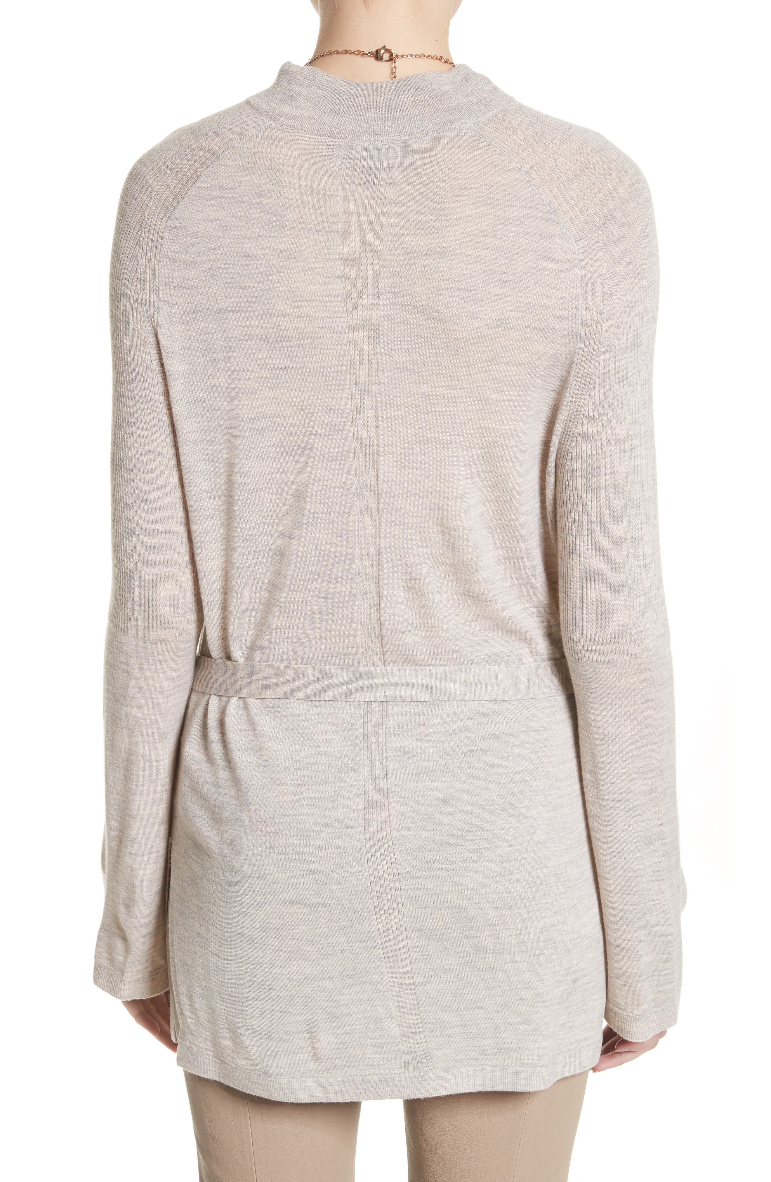 Wool Belted Tunic,                             Alternate thumbnail 2, color,                             205