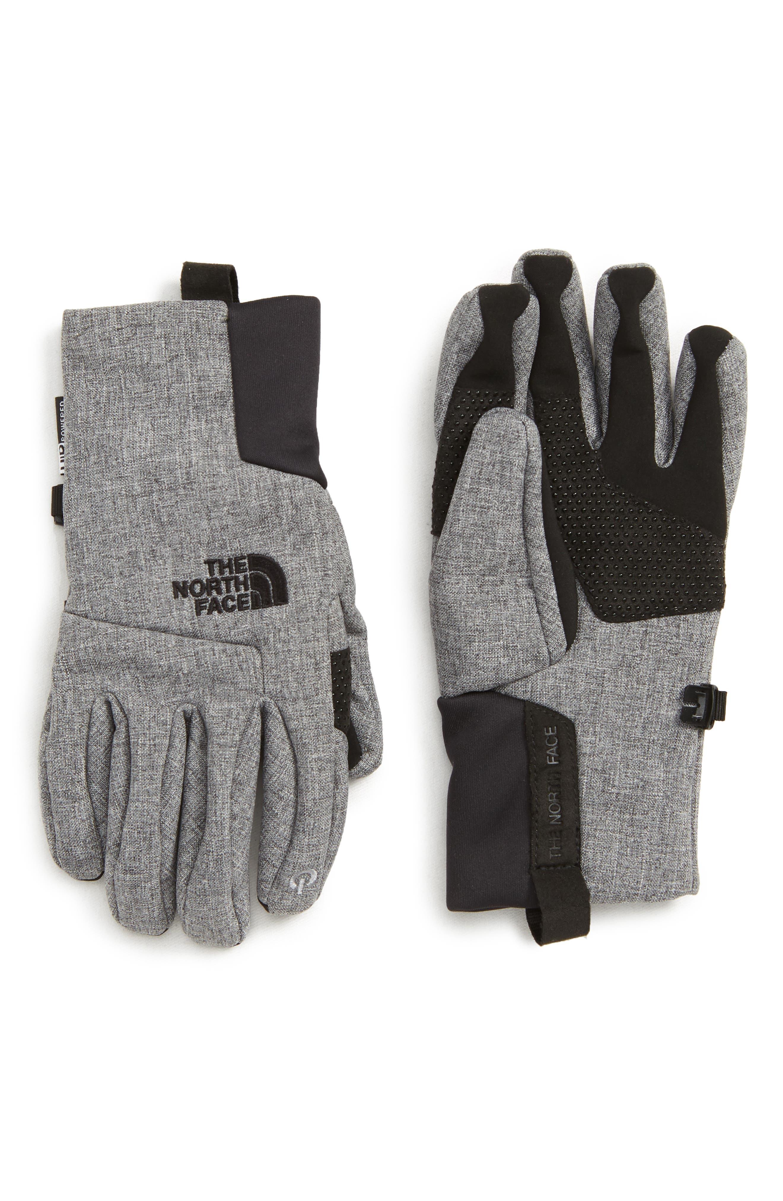 Apex Etip<sup>™</sup> Tech Gloves,                             Main thumbnail 1, color,                             MEDIUM GREY HEATHER
