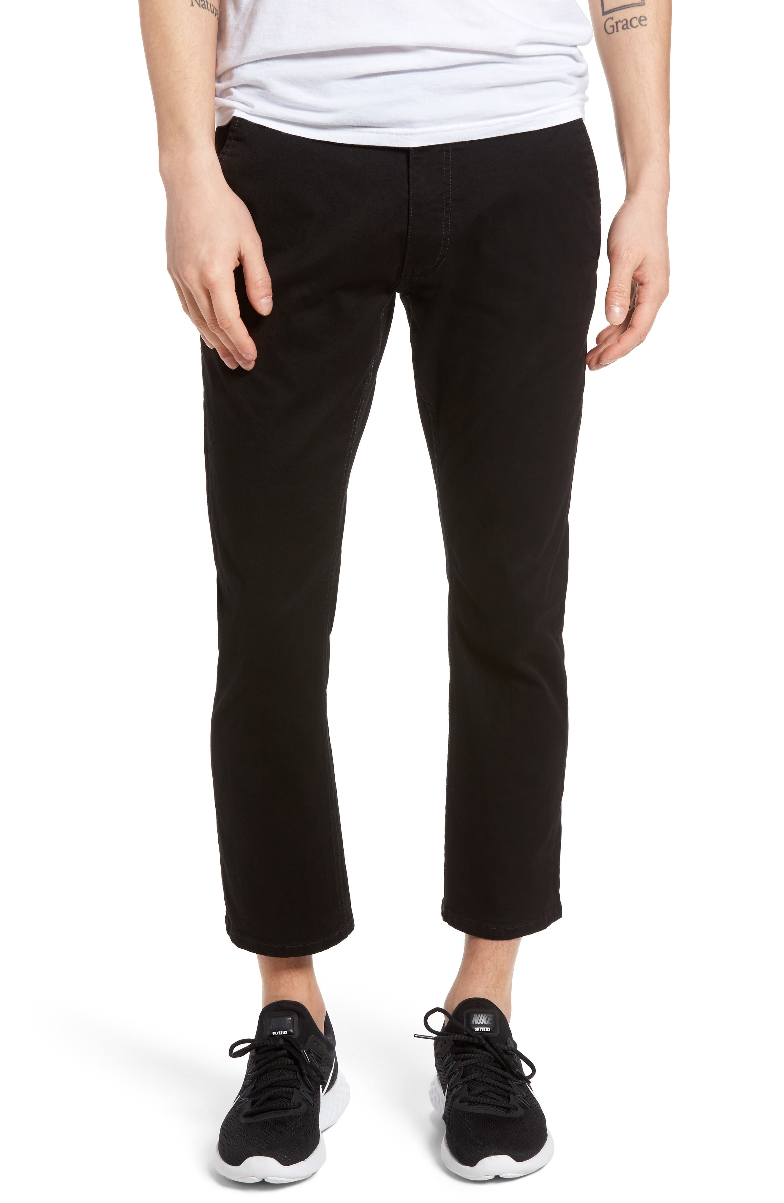 Federal Cropped Chinos,                         Main,                         color, 001