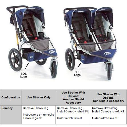BOB TRAILERS REVOLUTION AND REVOLUTION DUALLIE STROLLERS