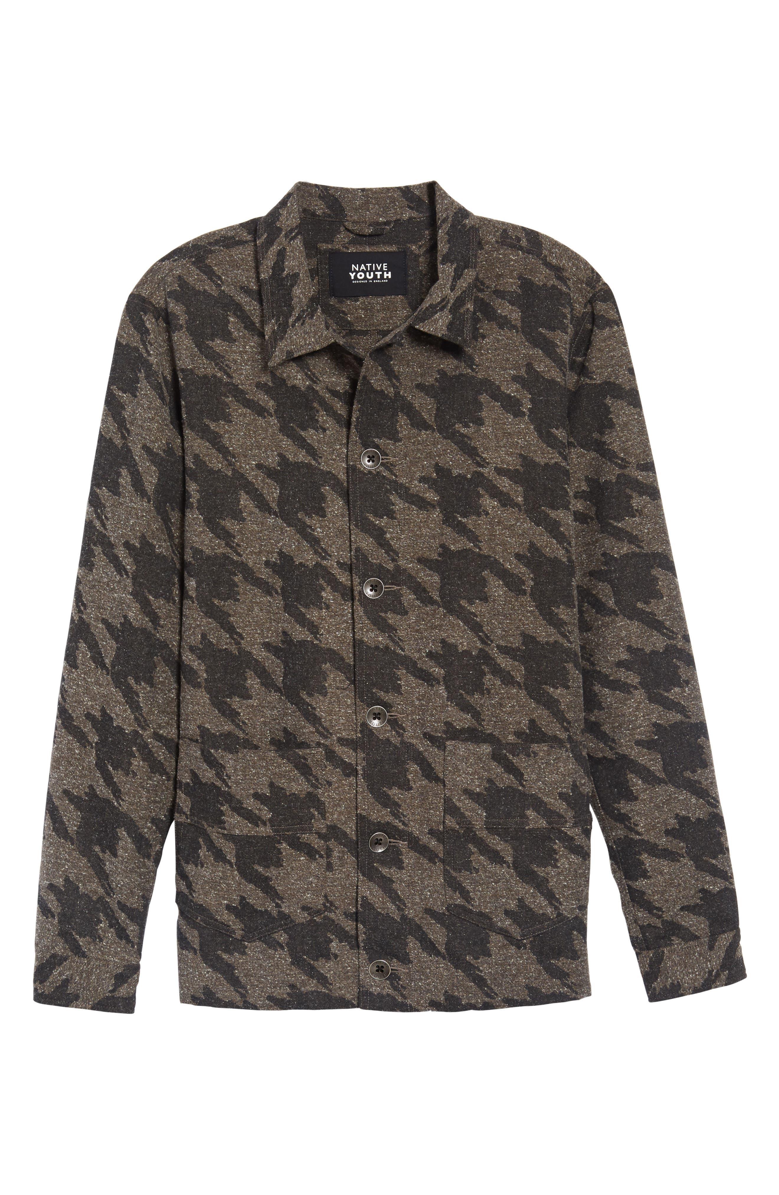 Lynx Shirt Jacket,                             Alternate thumbnail 5, color,                             023