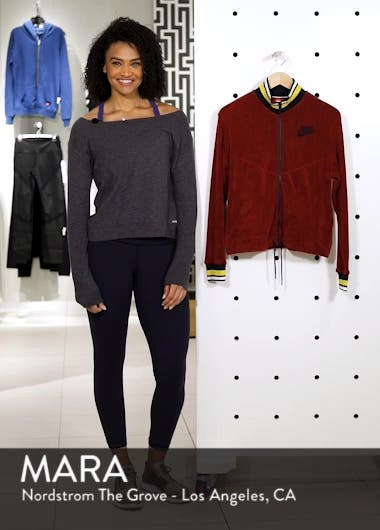 Sportswear French Terry Jacket, sales video thumbnail