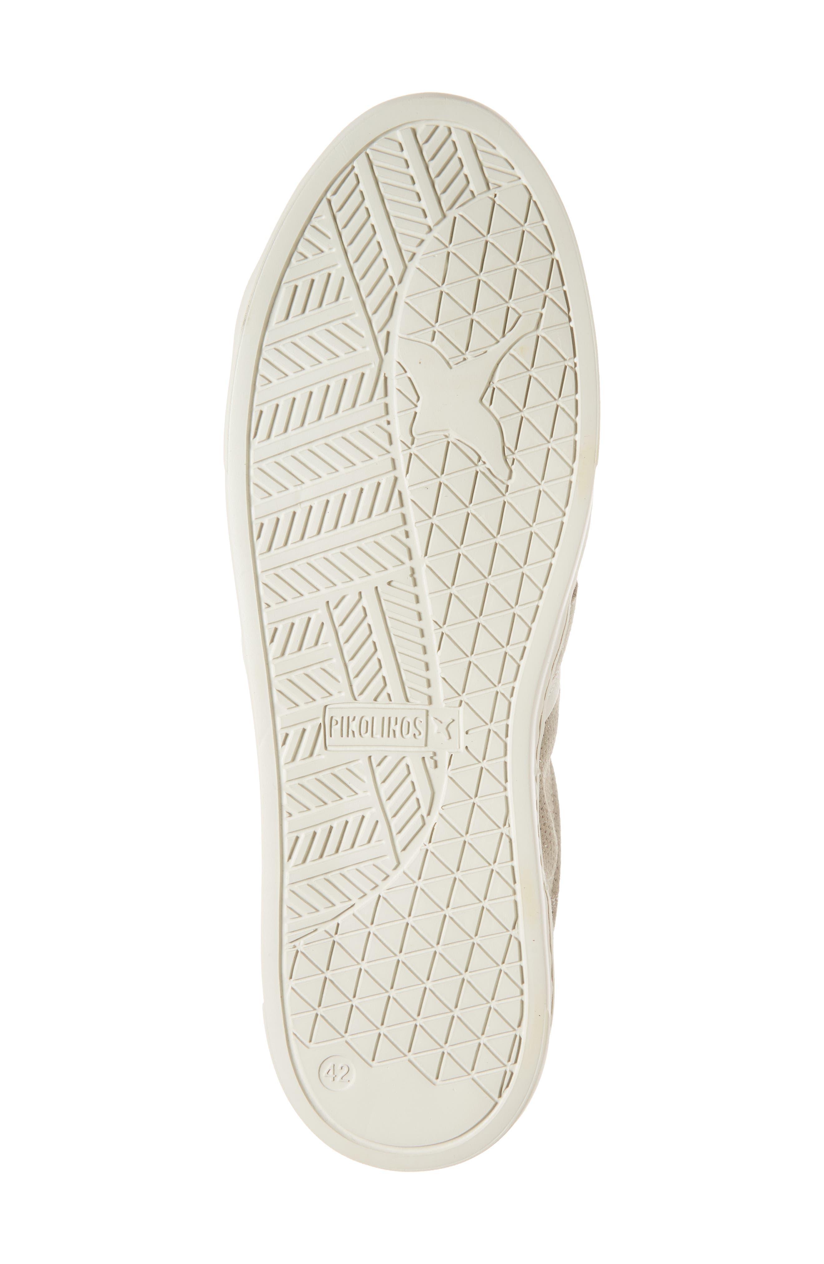 Belfort Perforated Sneaker,                             Alternate thumbnail 6, color,                             020