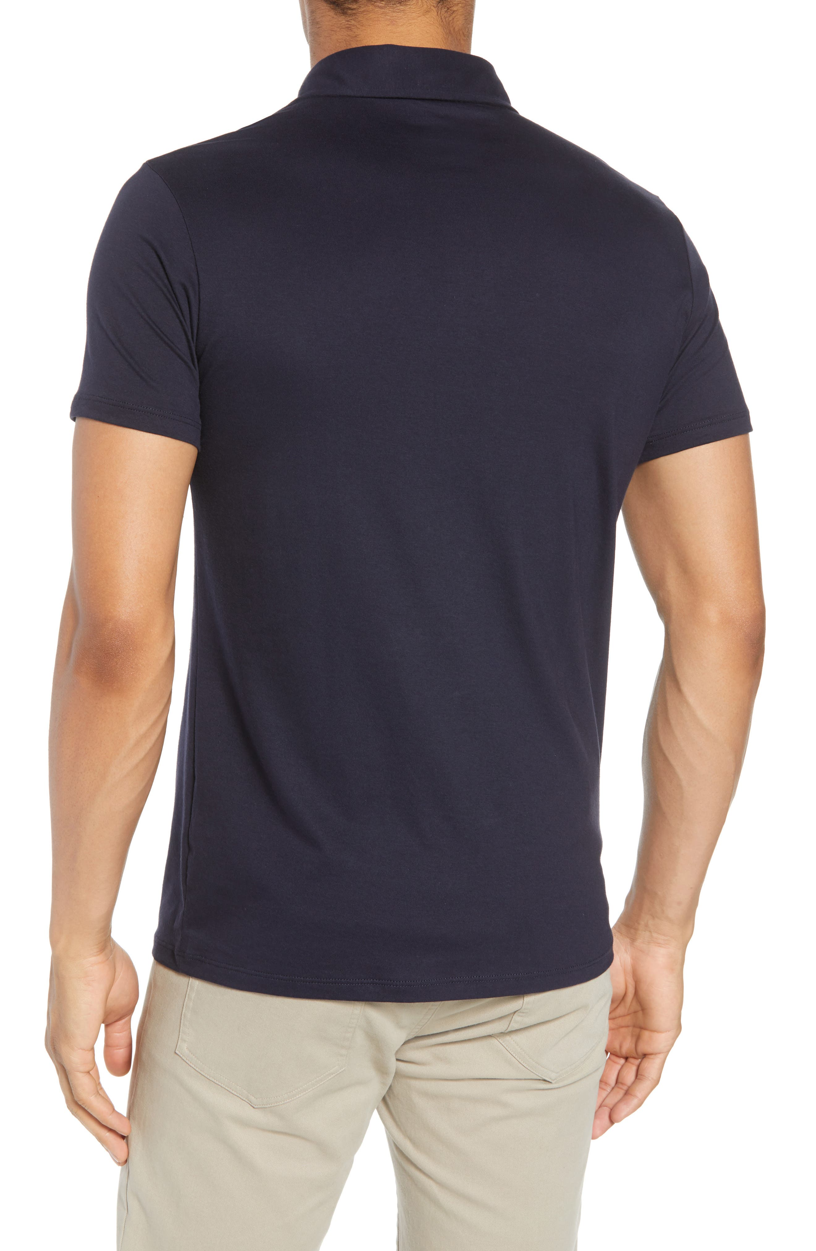 Refined Jersey Polo,                             Alternate thumbnail 13, color,