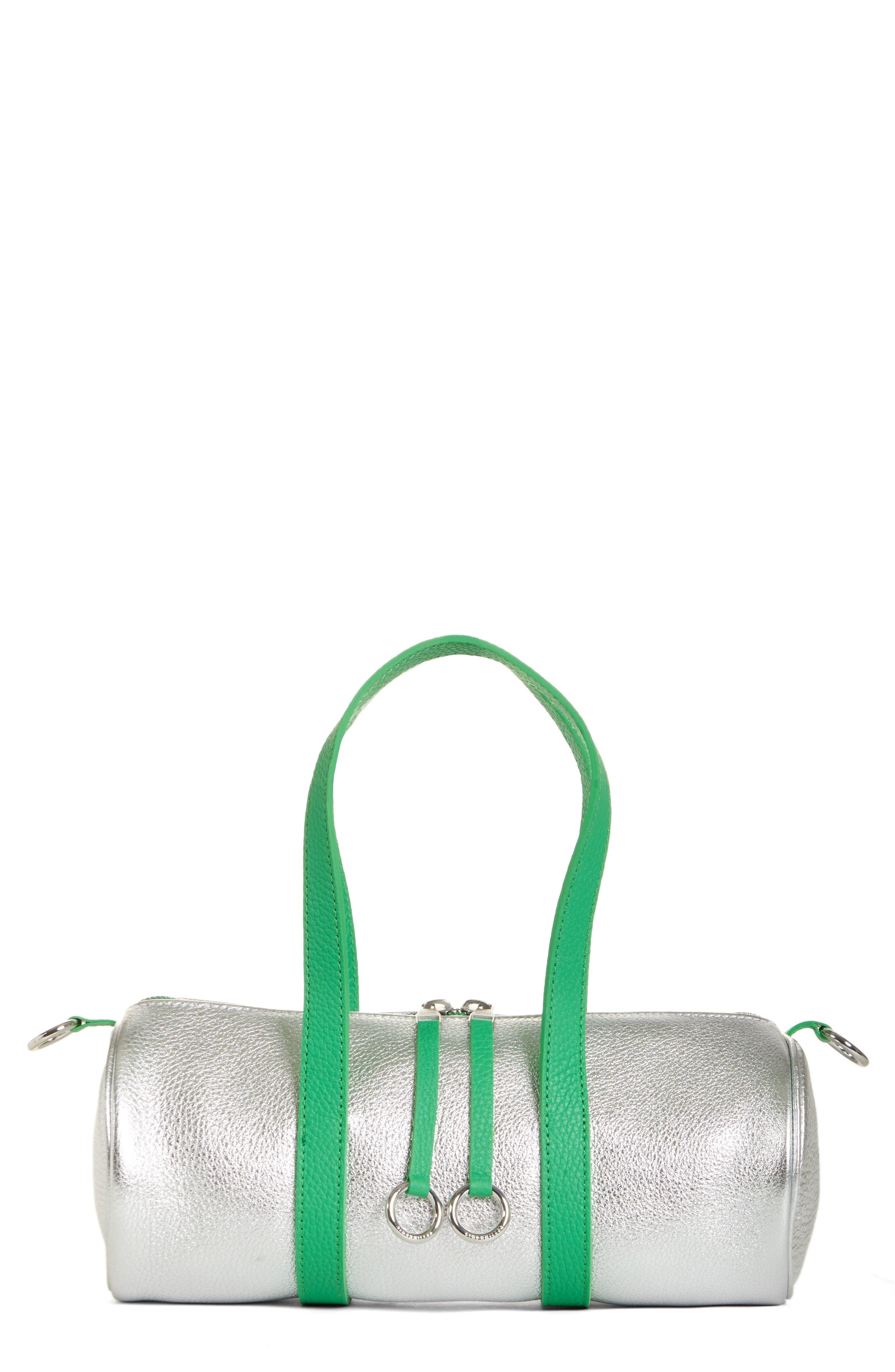 Mini Tool Kit Shoulder Bag, Main, color, TIN FOIL