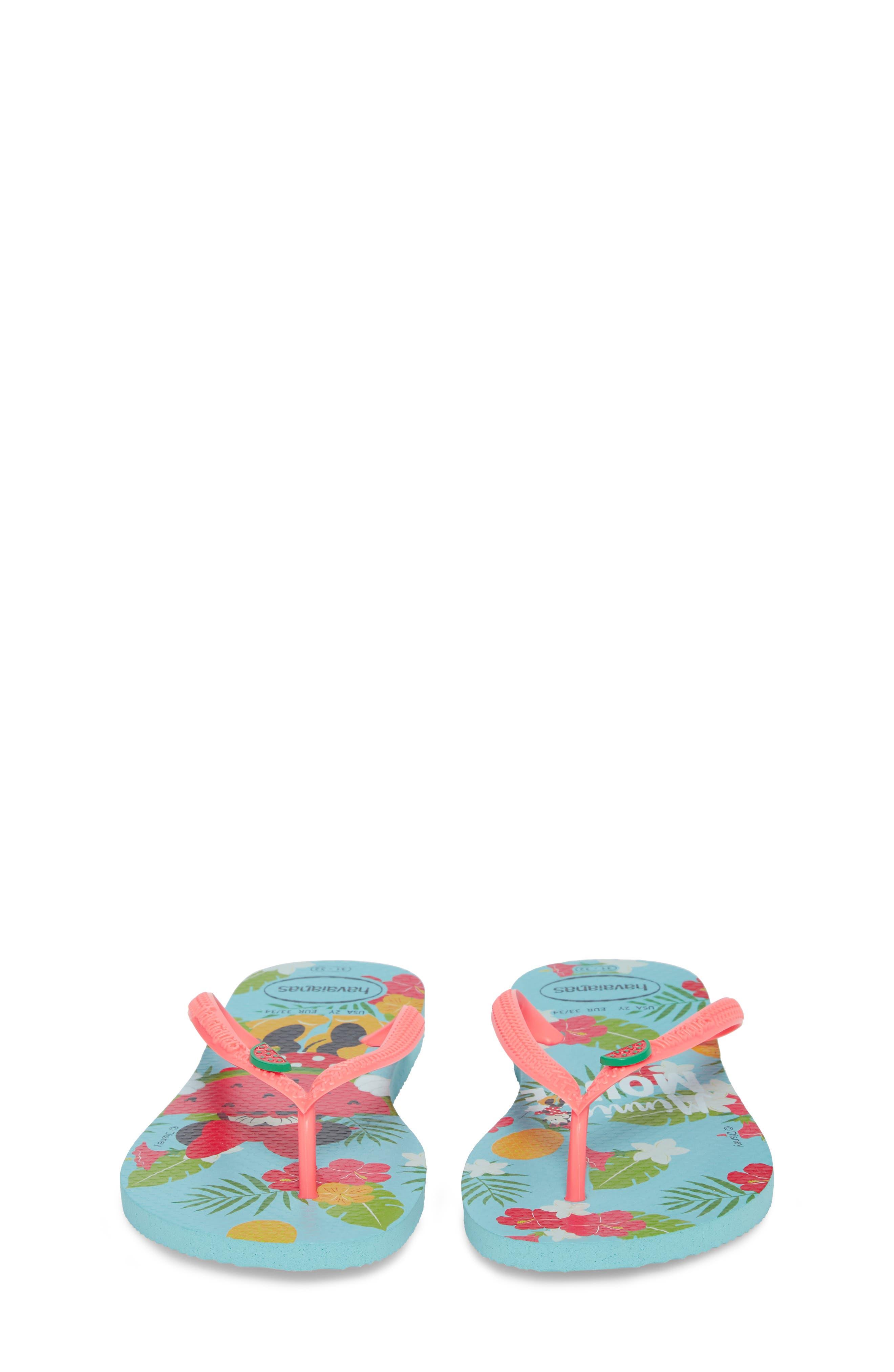 'Disney<sup>®</sup> Minnie Mouse' Flip Flop,                             Alternate thumbnail 13, color,