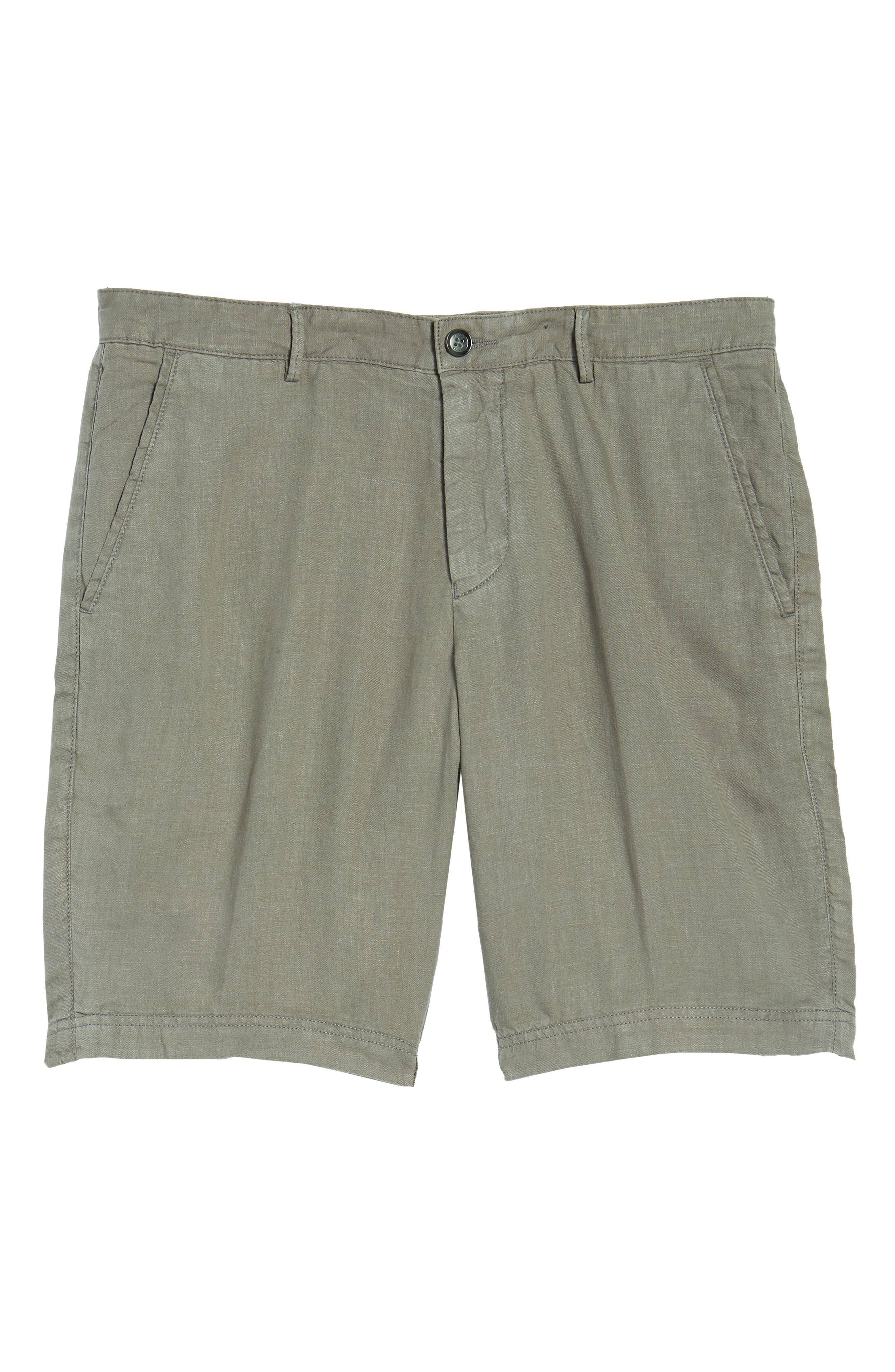 Crigan Linen Shorts,                             Alternate thumbnail 27, color,