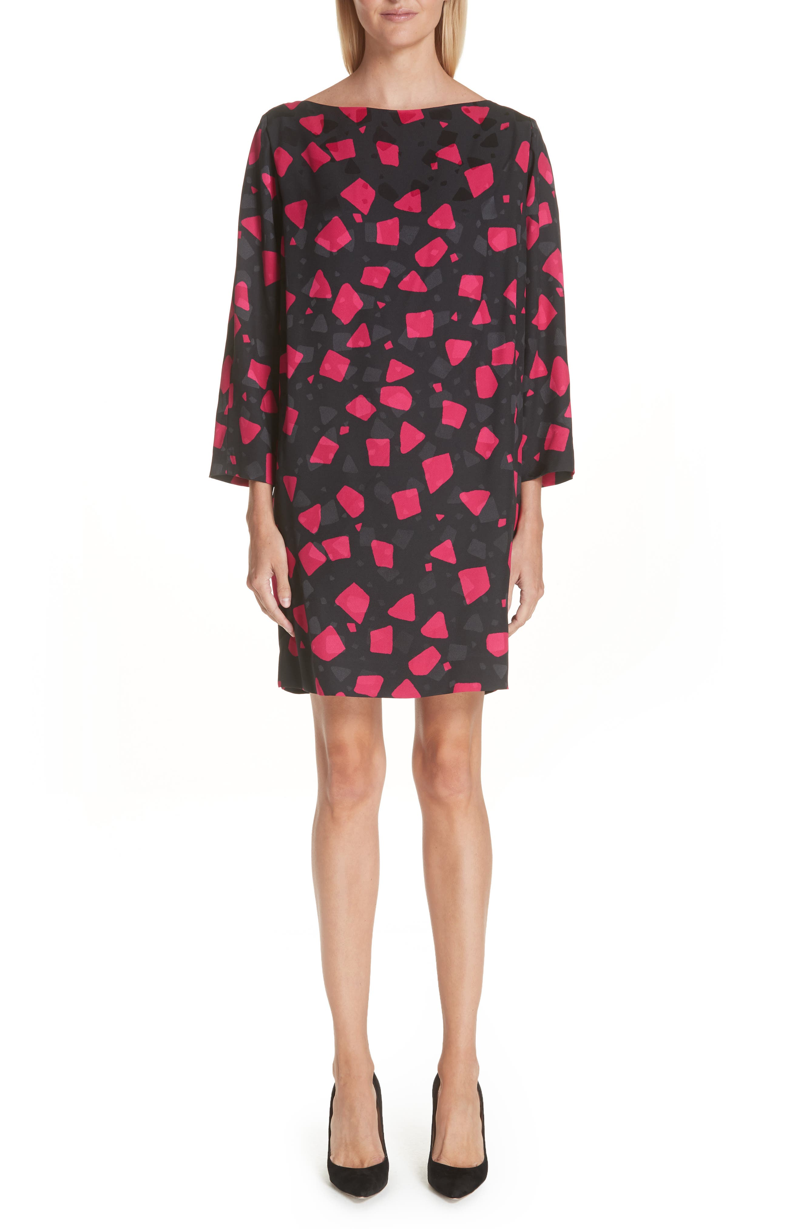 Marc Jacobs Spot Print Shift Dress, Pink
