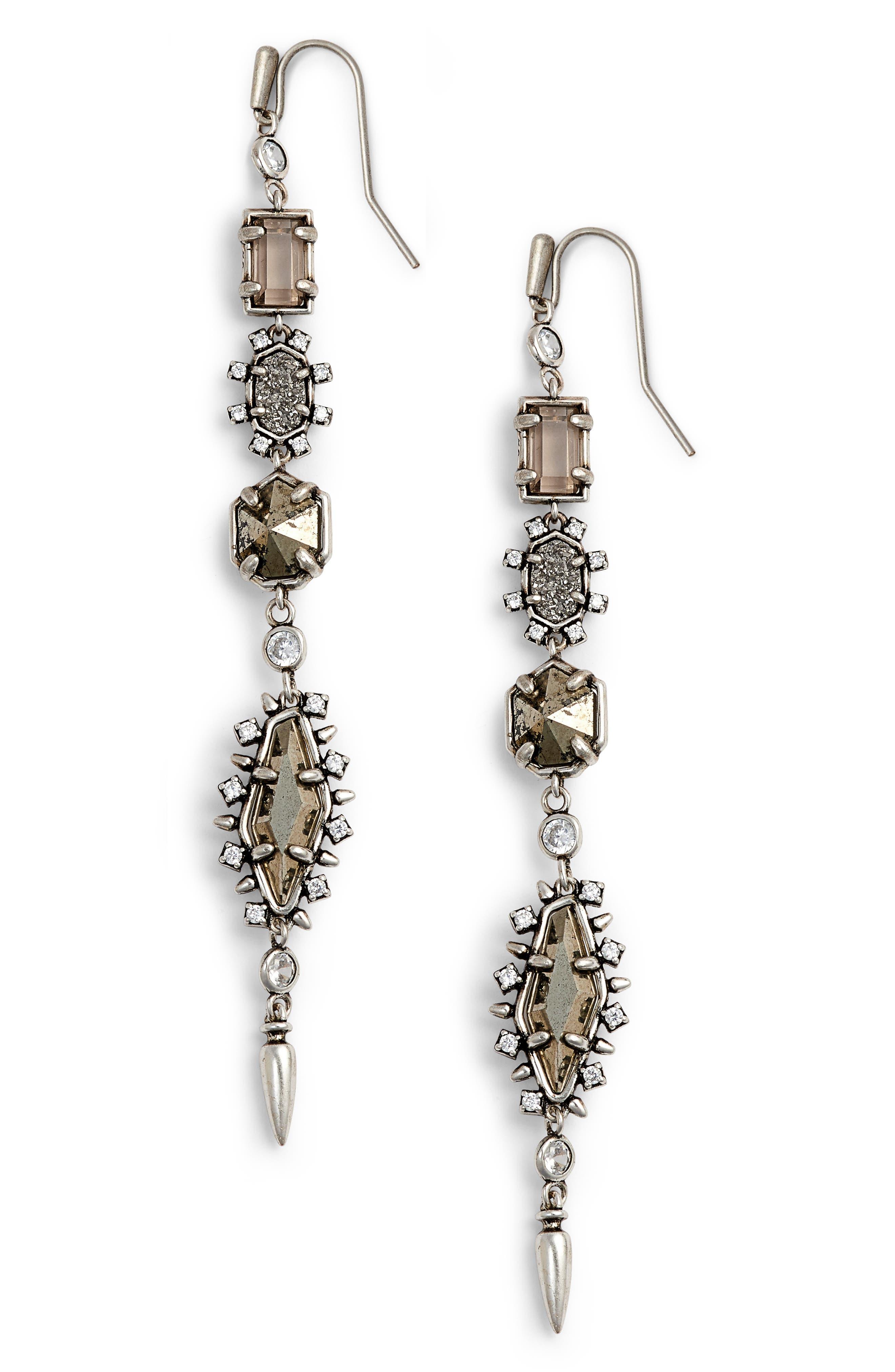 Leandra Linear Earrings,                             Main thumbnail 1, color,                             040