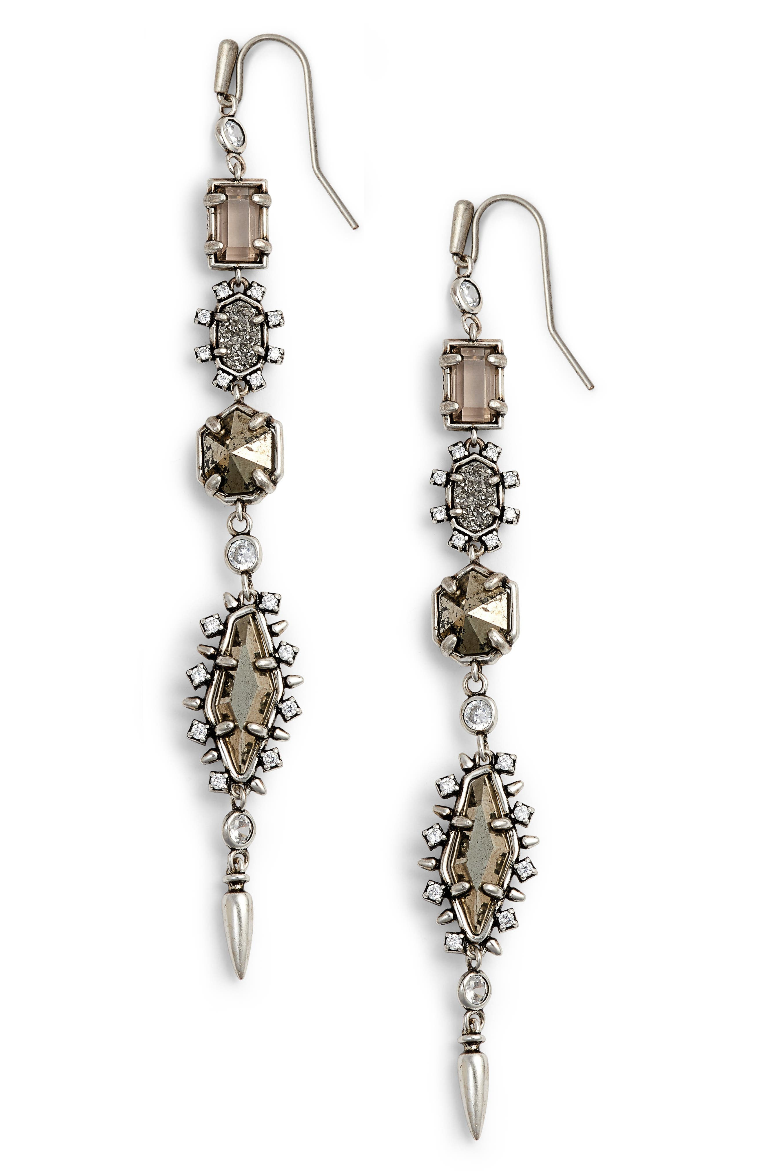 Leandra Linear Earrings,                         Main,                         color, 040