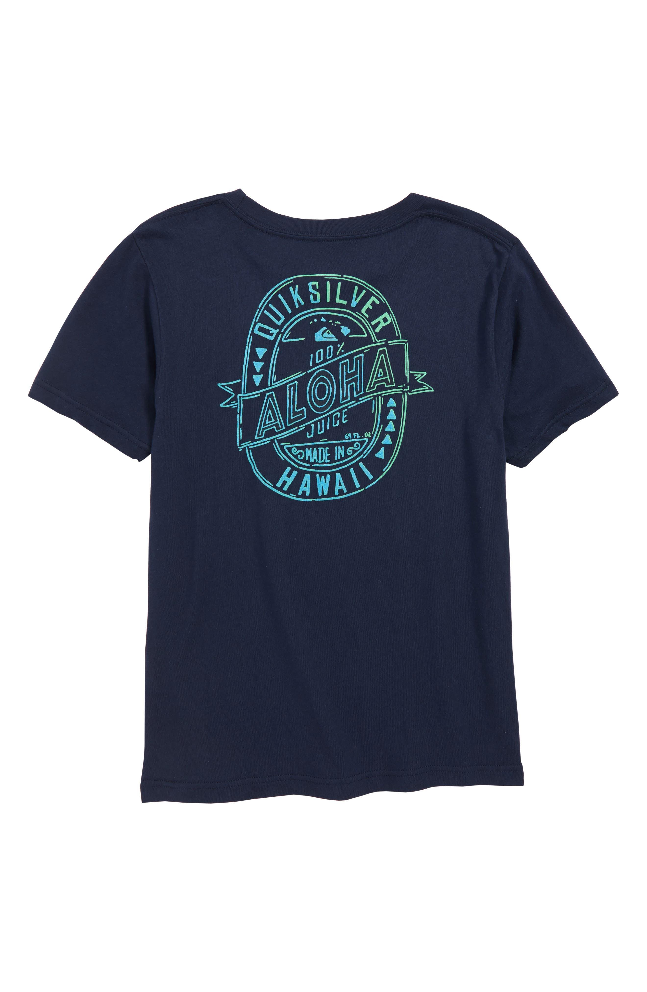 Hawaii Juice Graphic T-Shirt,                             Alternate thumbnail 2, color,                             410