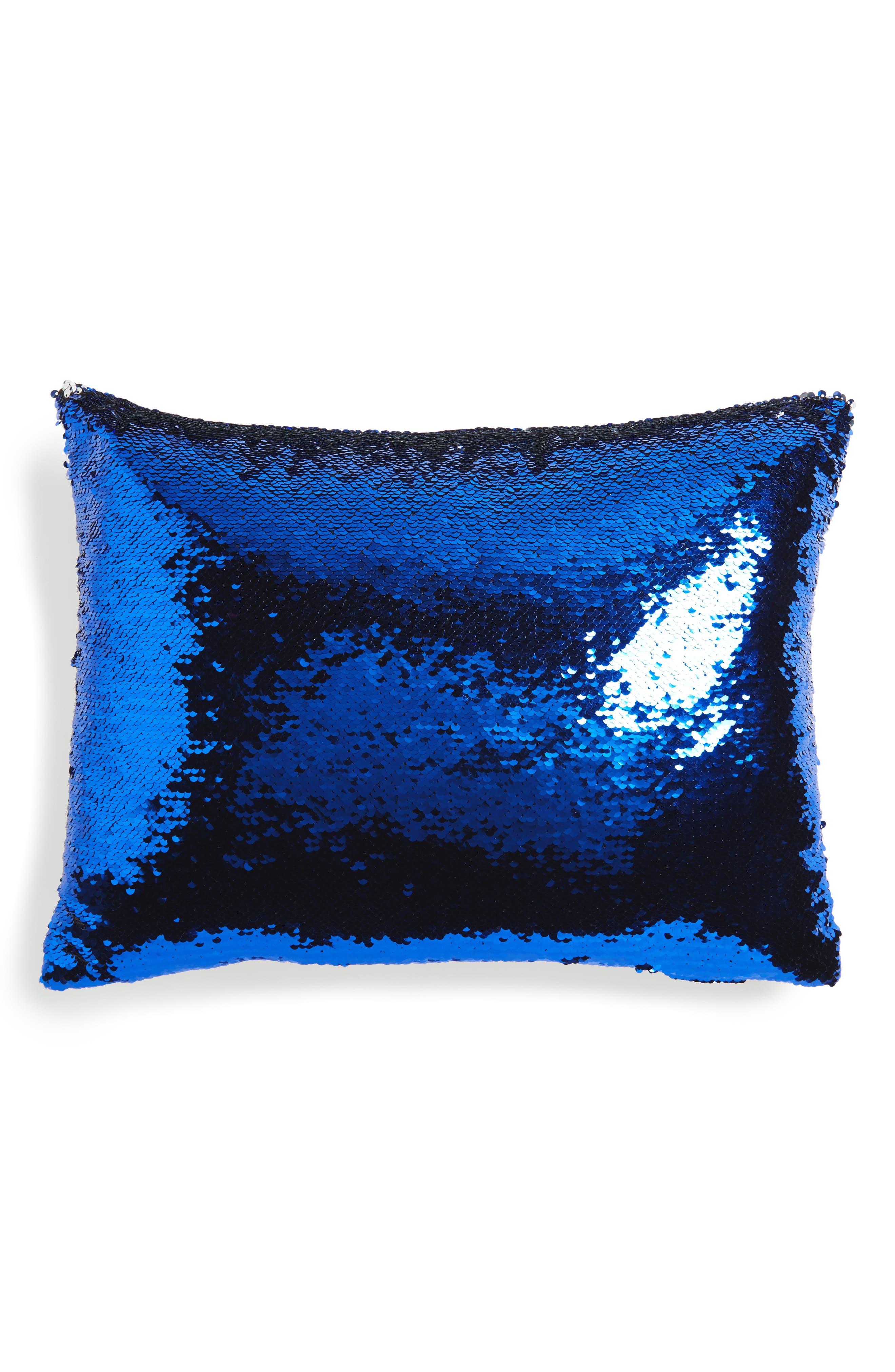 Sequin Pillow,                         Main,                         color, 400
