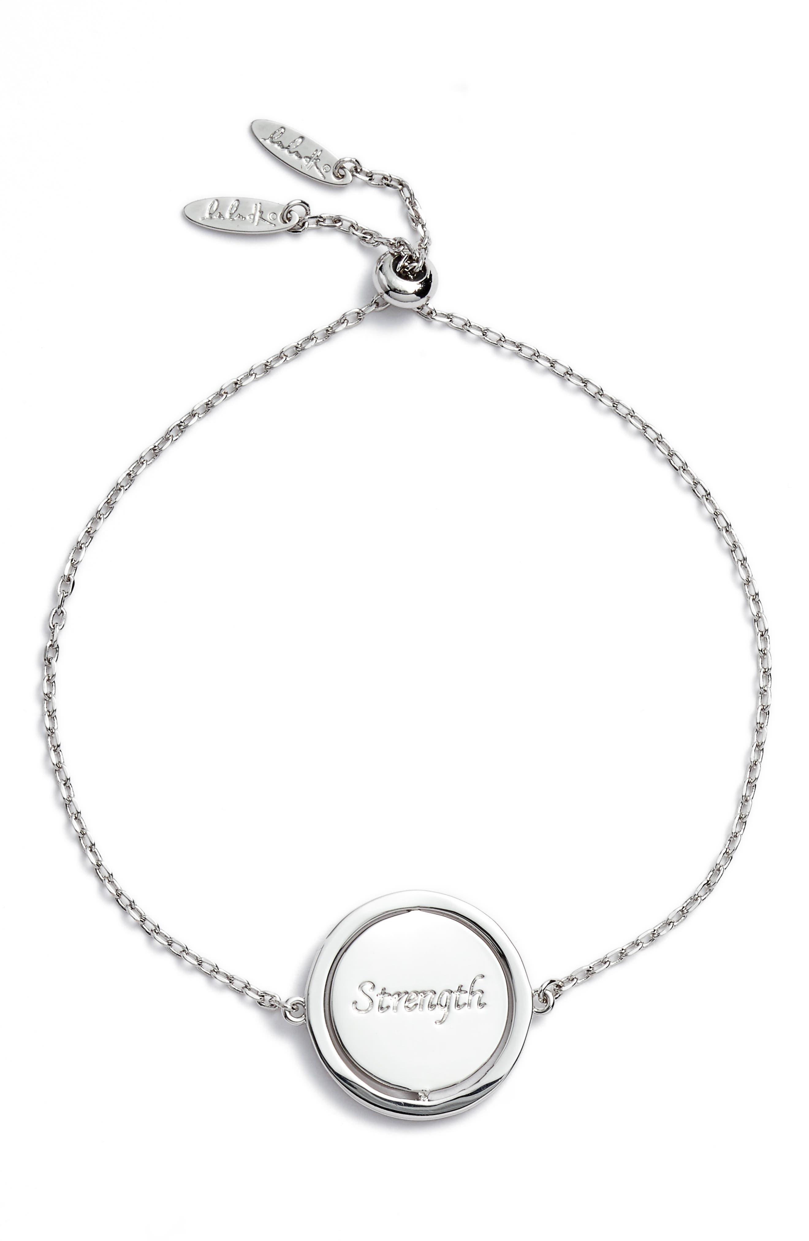 Small Spinning Pendant Bracelet,                             Main thumbnail 2, color,