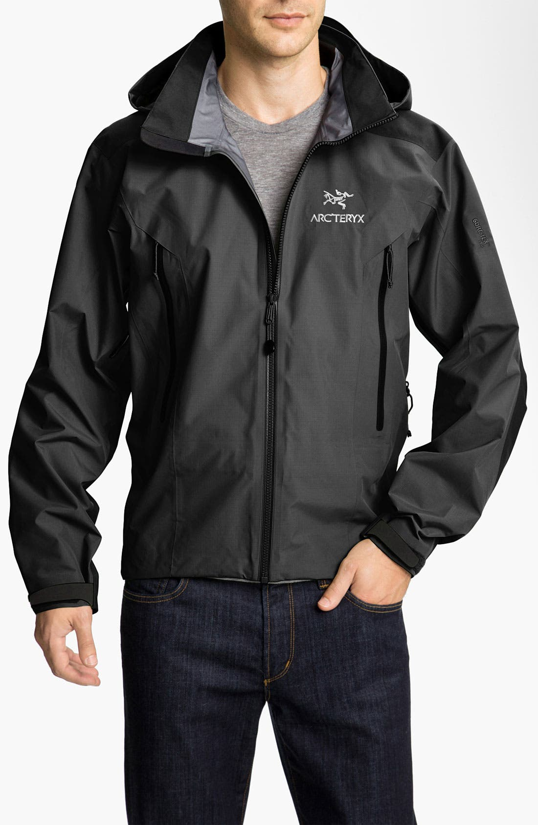 'Beta AR' Gore-Tex<sup>®</sup> Jacket,                             Main thumbnail 1, color,                             001