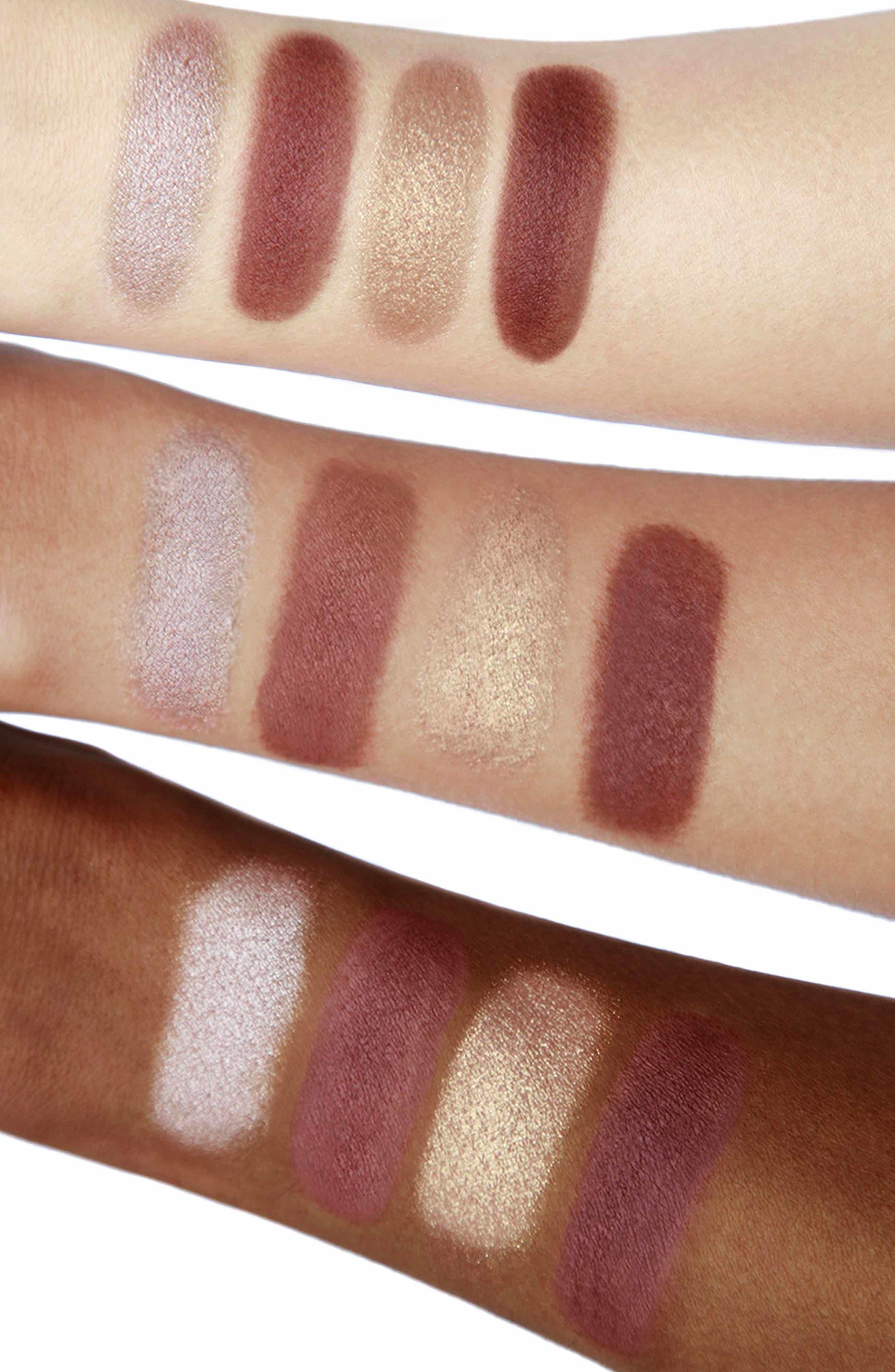 Luxury Palette - The Vintage Vamp Color-Coded Eyeshadow Palette,                             Alternate thumbnail 3, color,                             THE VINTAGE VAMP