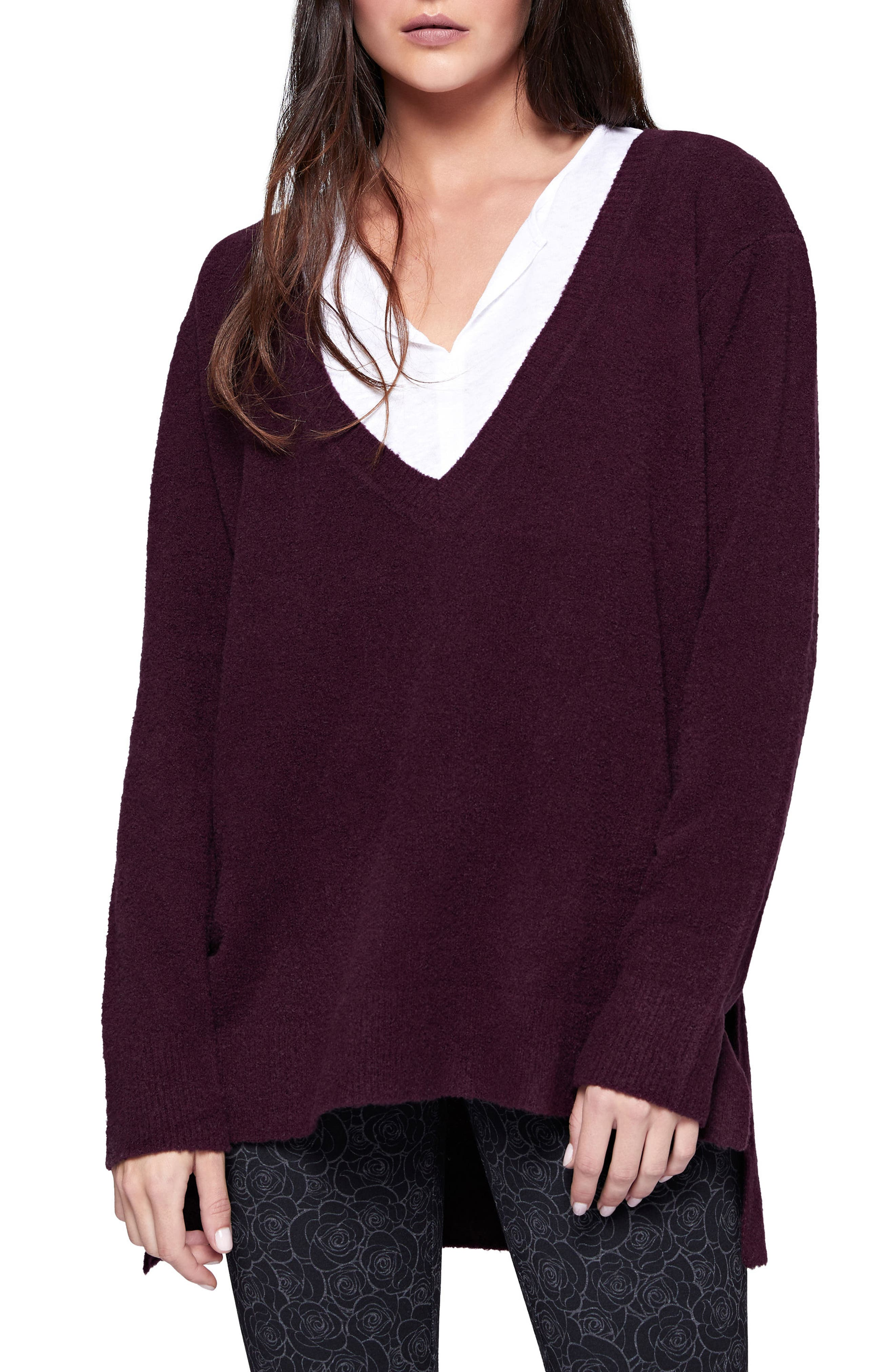 Santuary Delancey V-Neck Sweater,                             Main thumbnail 4, color,