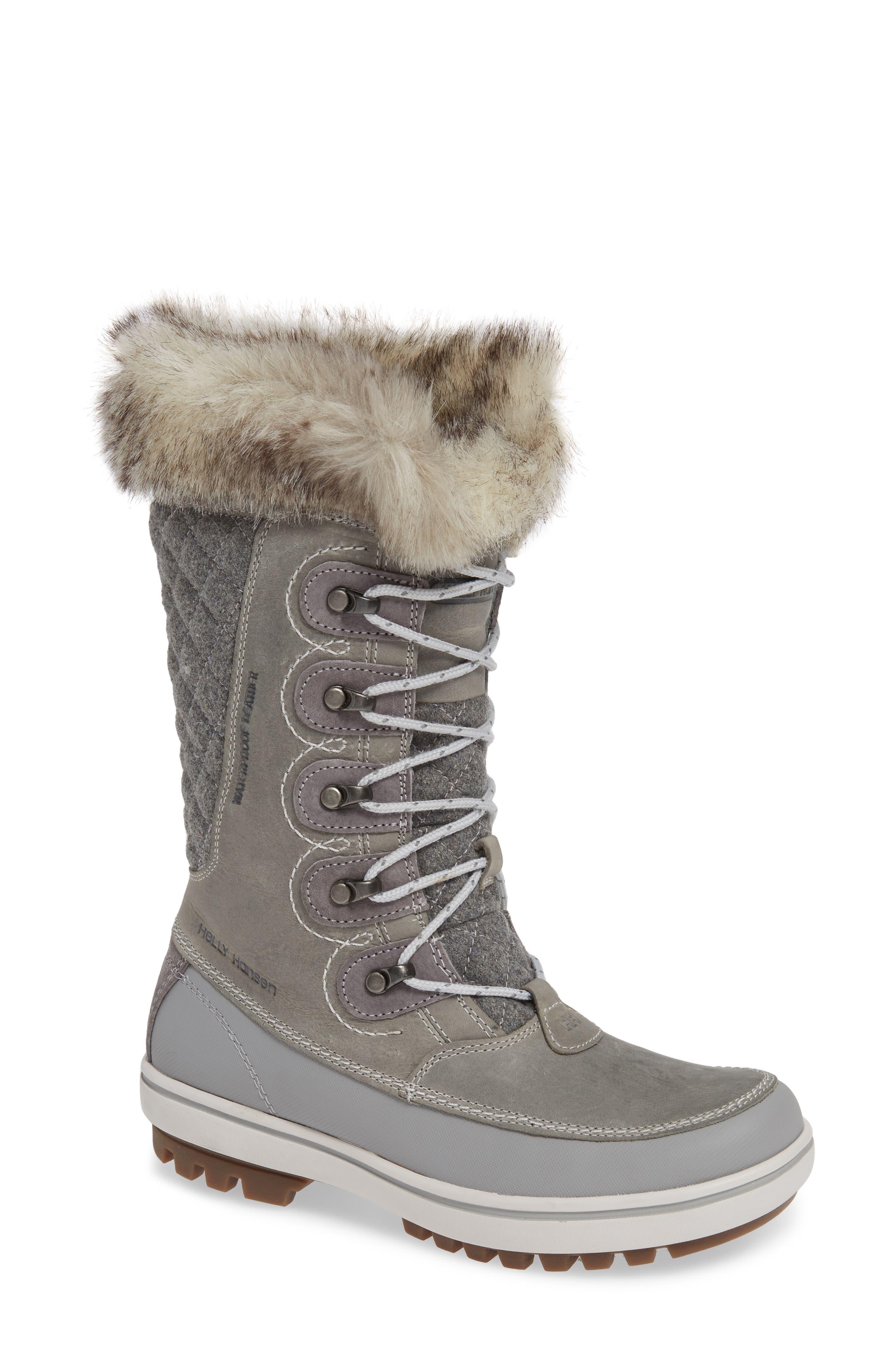 Helly Hansen Garibaldi Waterproof Boot- Grey