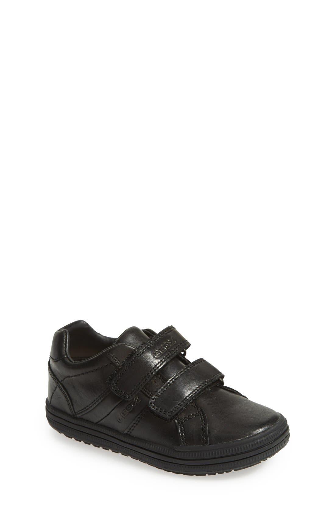 GEOX Elvis 25 Sneaker, Main, color, BLACK