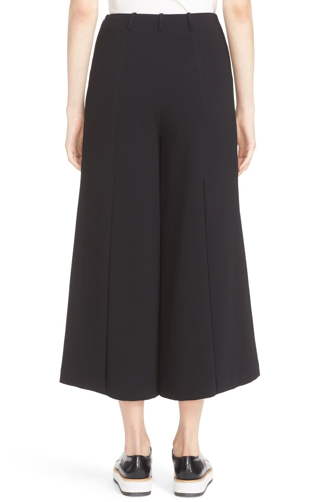 Willow Split Crop Pants,                             Alternate thumbnail 3, color,