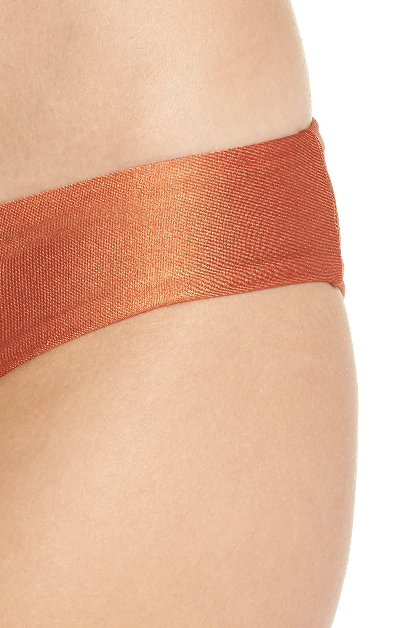 Shimmering Sublime Signature Reversible Bikini Bottoms,                             Alternate thumbnail 5, color,                             221