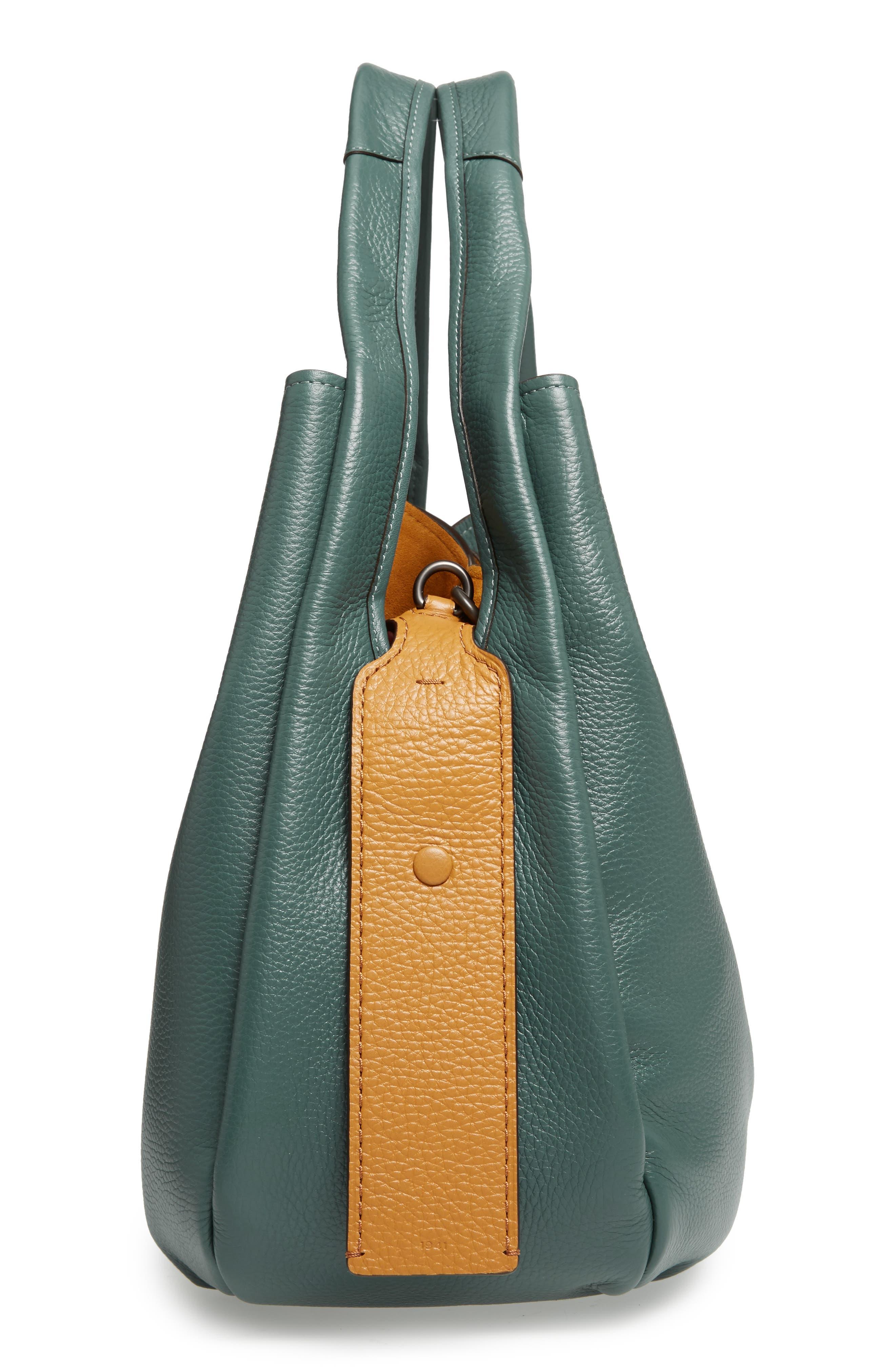 Bandit Leather Hobo & Removable Shoulder Bag,                             Alternate thumbnail 5, color,                             313