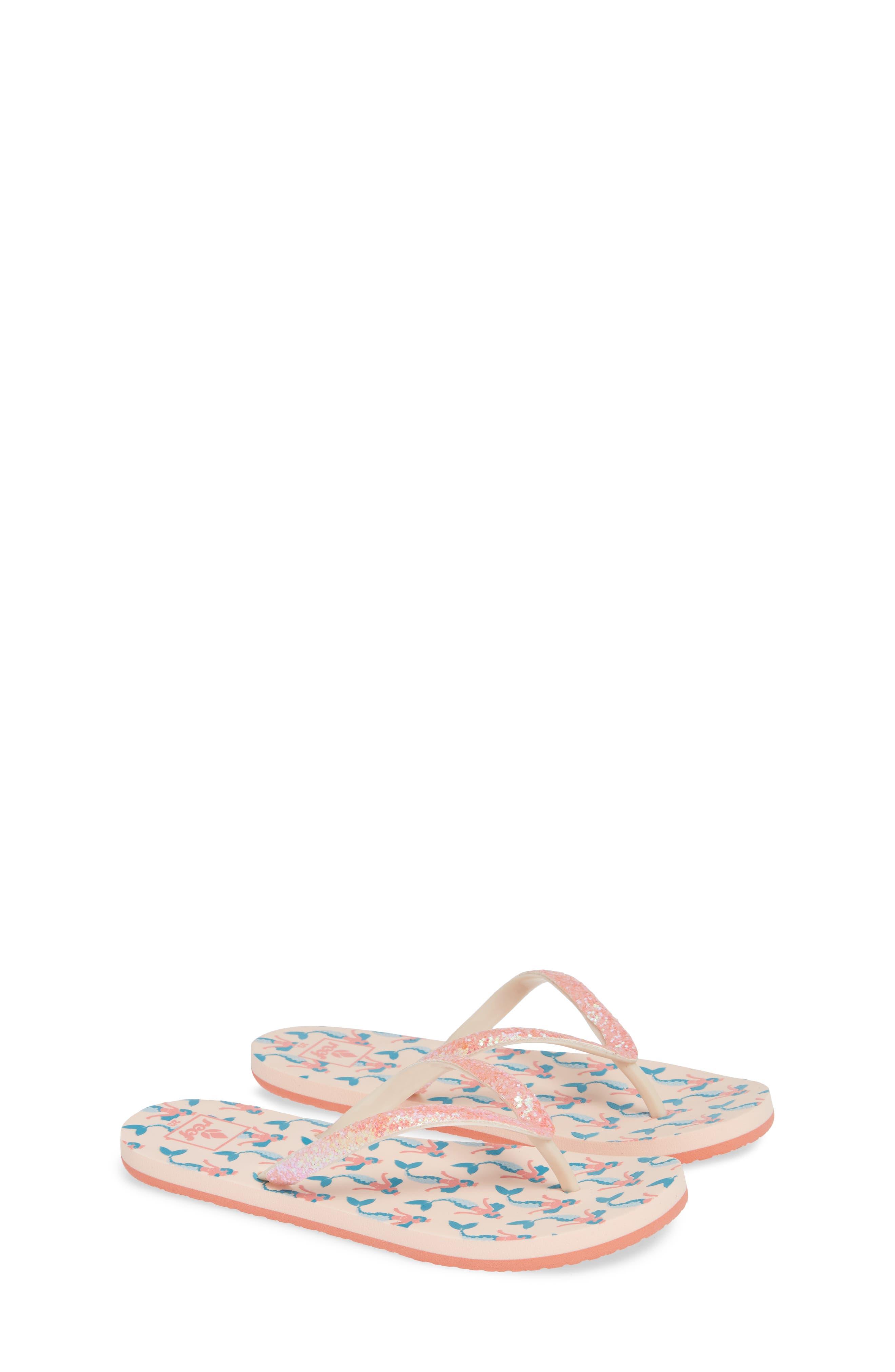 Little Stargazer Print Flip Flop,                             Alternate thumbnail 2, color,                             PINK