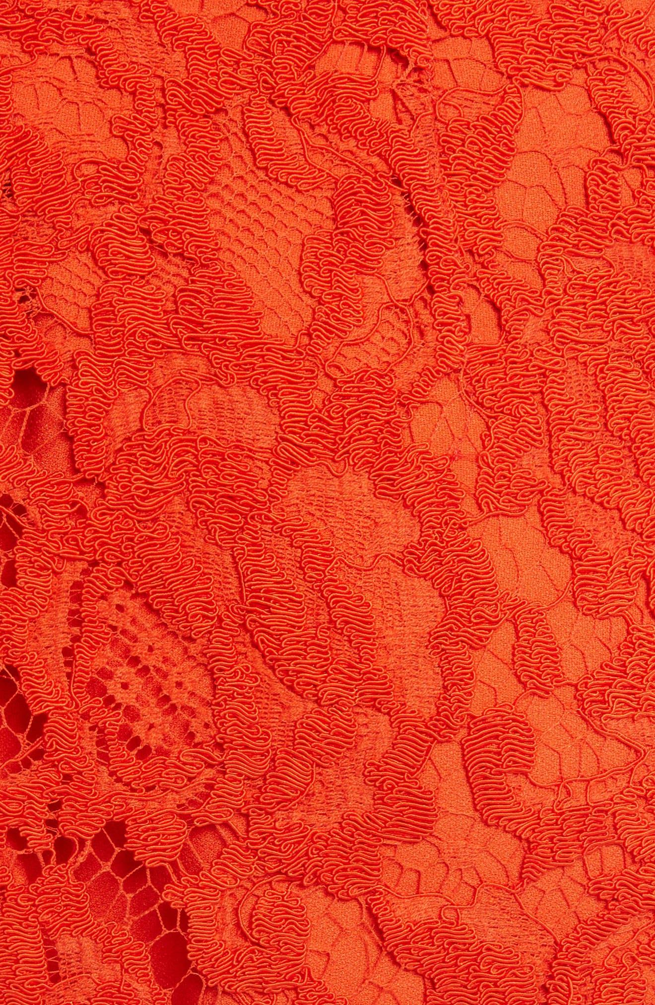 Corded Lace Miniskirt,                             Alternate thumbnail 5, color,                             950