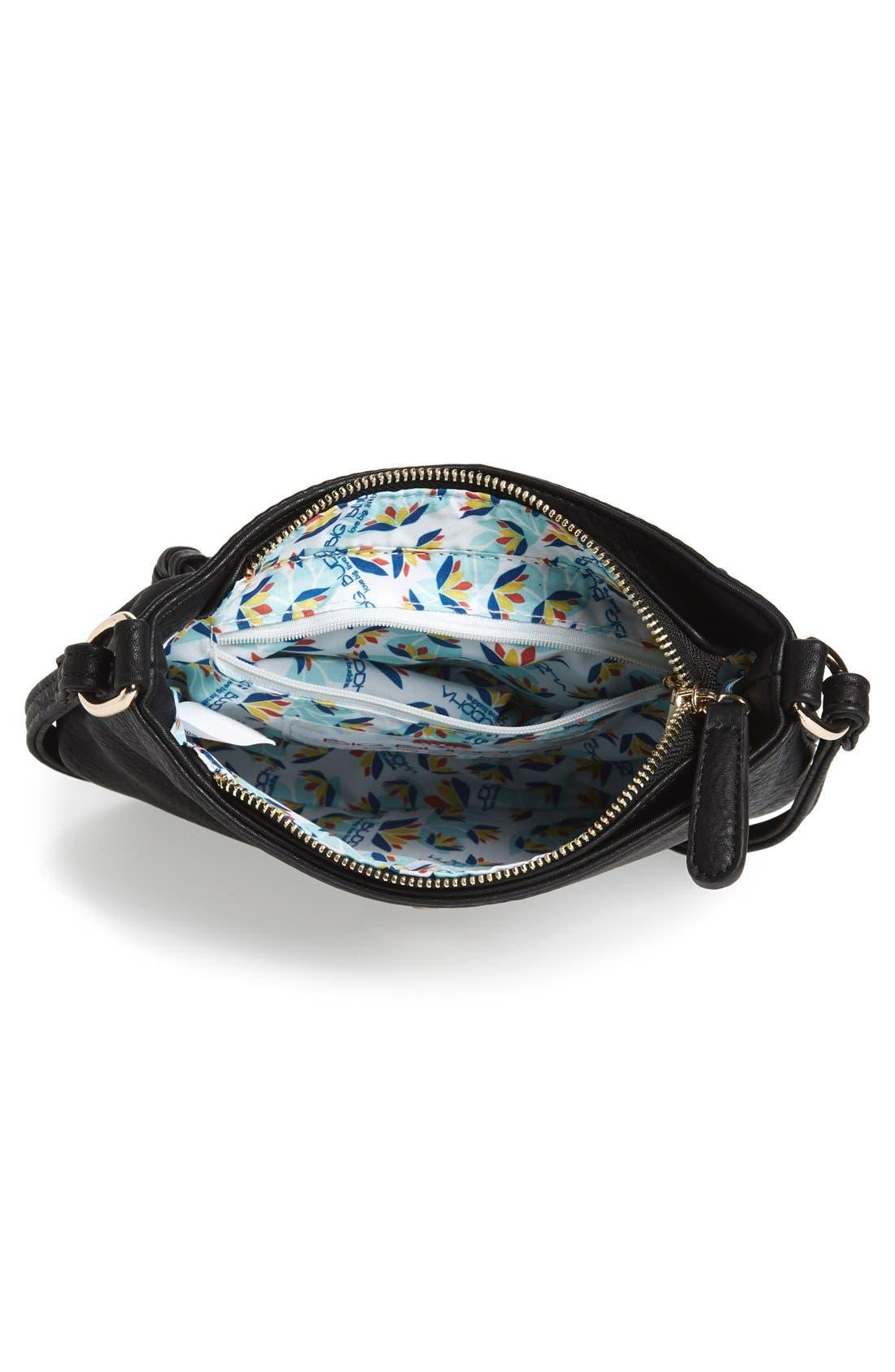 'Arlingtone' Crossbody Bag,                             Alternate thumbnail 4, color,                             001
