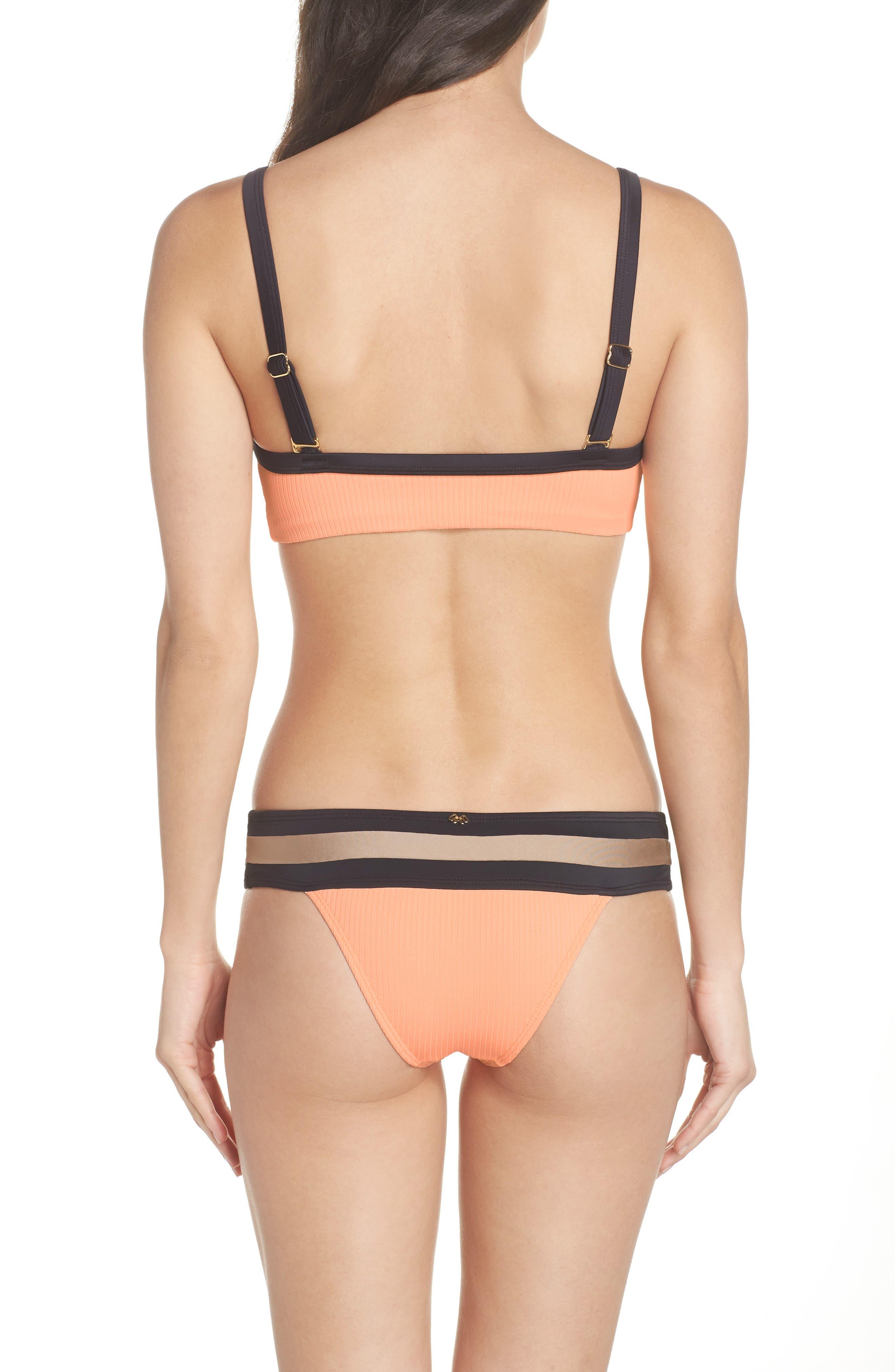 Color Block Bikini Top,                             Alternate thumbnail 8, color,                             250