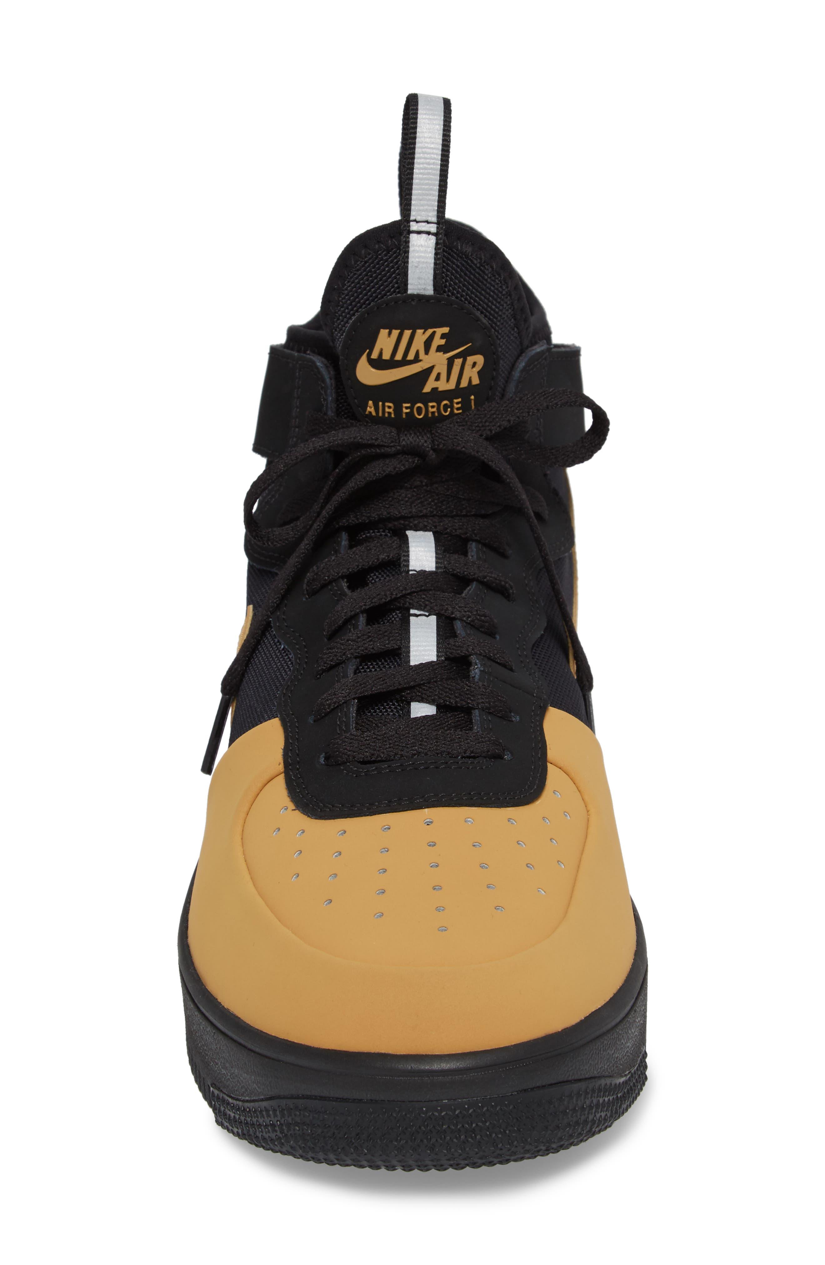 Air Force 1 Ultraforce Mid Tech Sneaker,                             Alternate thumbnail 4, color,                             002
