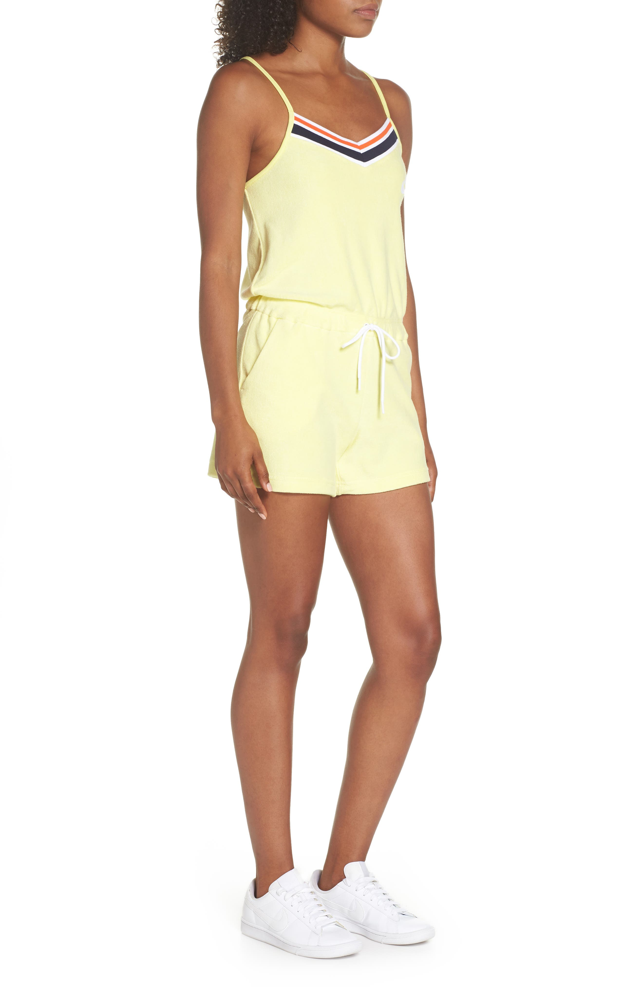 Sportswear Terry Romper,                             Alternate thumbnail 9, color,